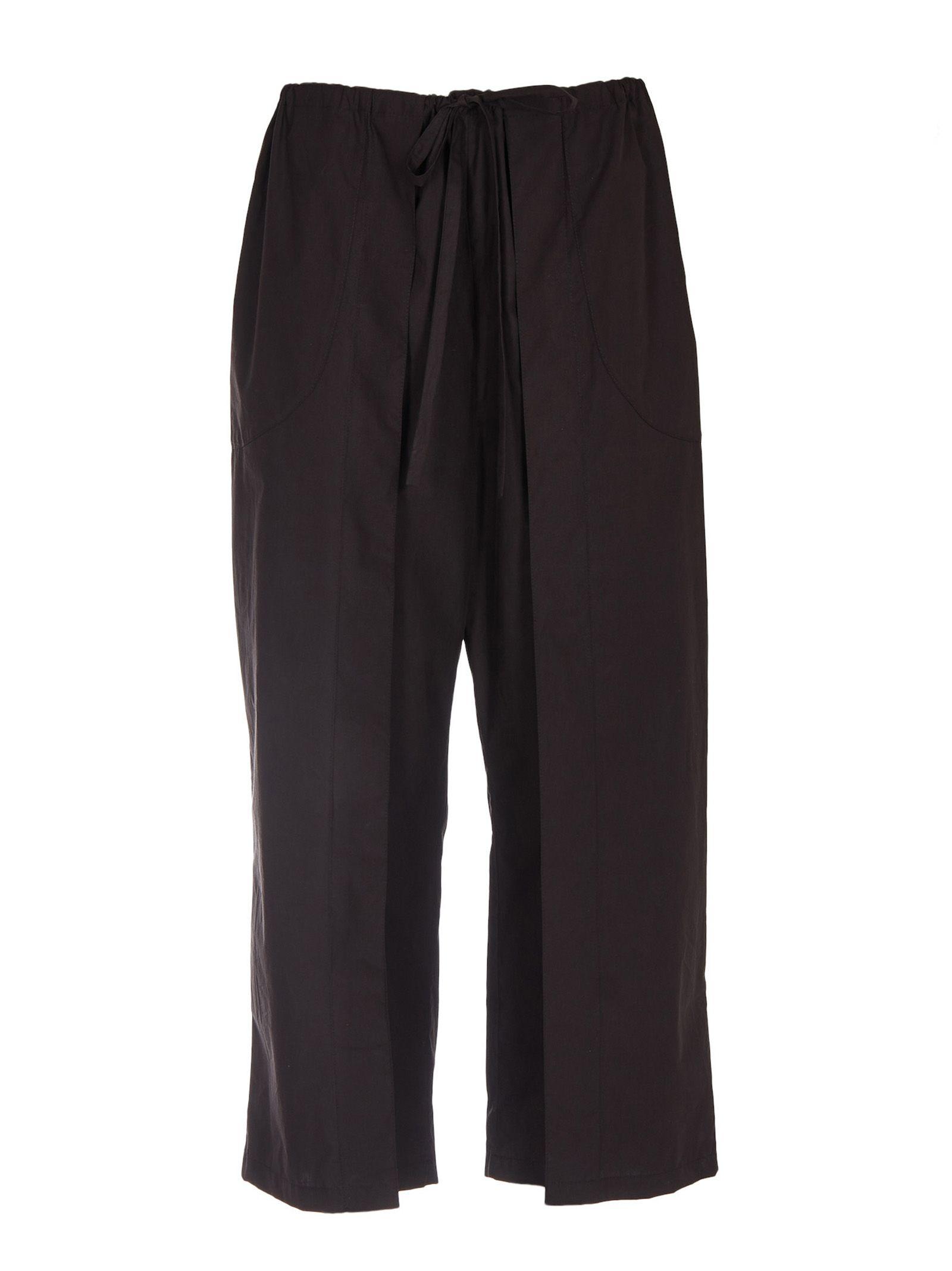 aalto female aalto satin cropped trousers