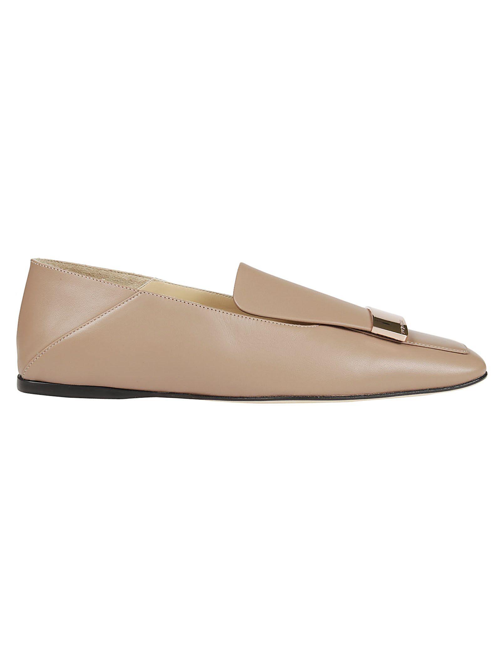 Sergio Rossi square toe ballerina shoes buy cheap low price teqbh