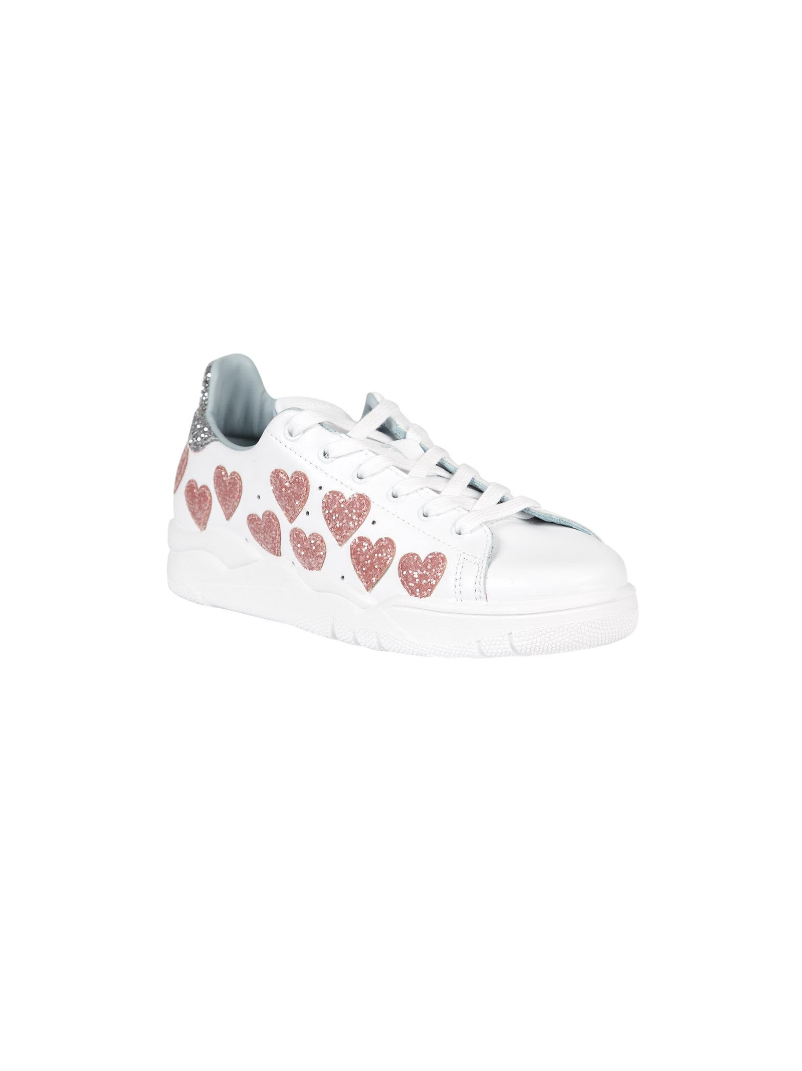 Chiara Ferragni Embellished Heart Roger Sneakers Discount 100% Authentic PKxYC5I45l