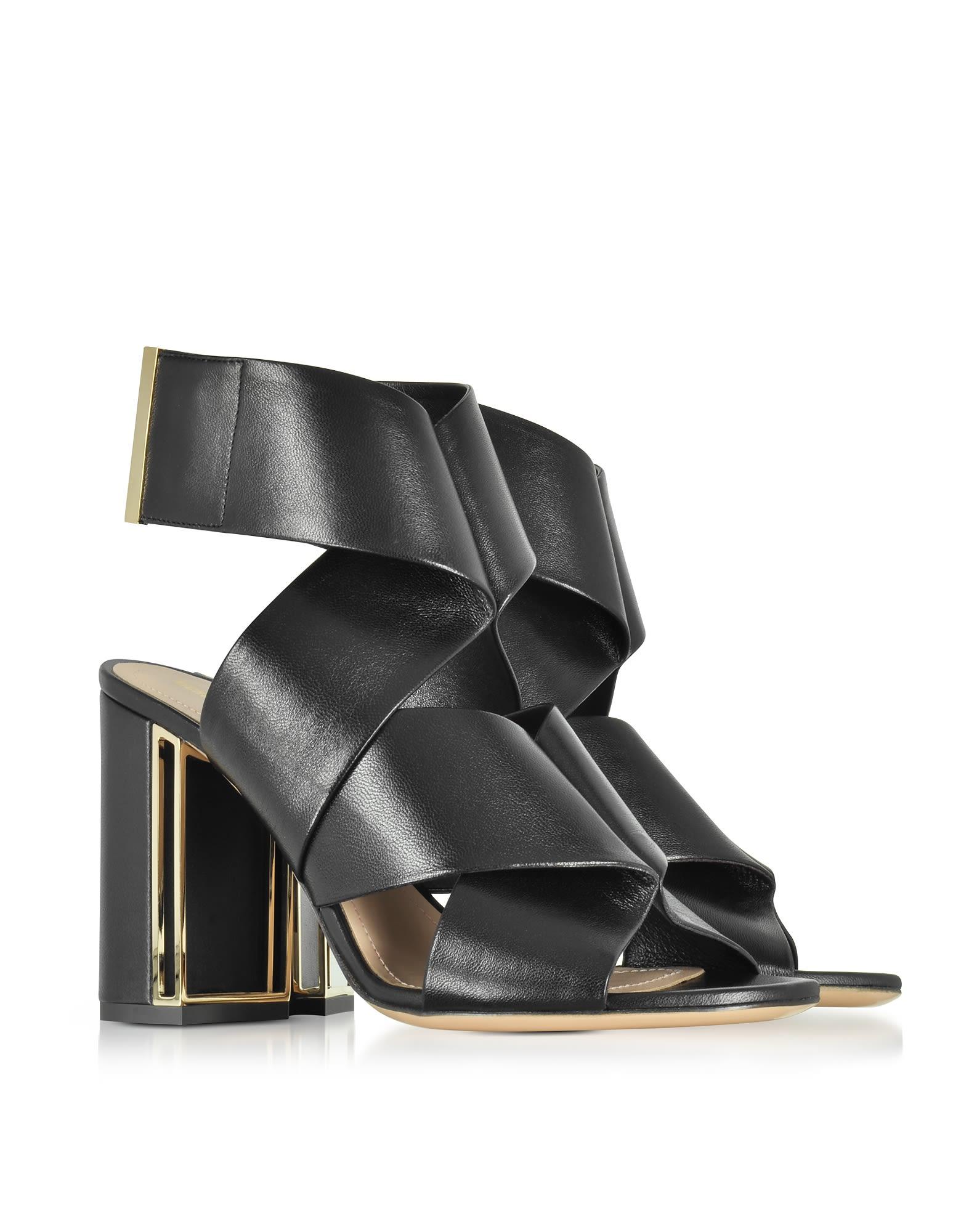 Nini sandals - Black Nicholas Kirkwood 8NWEsTsg
