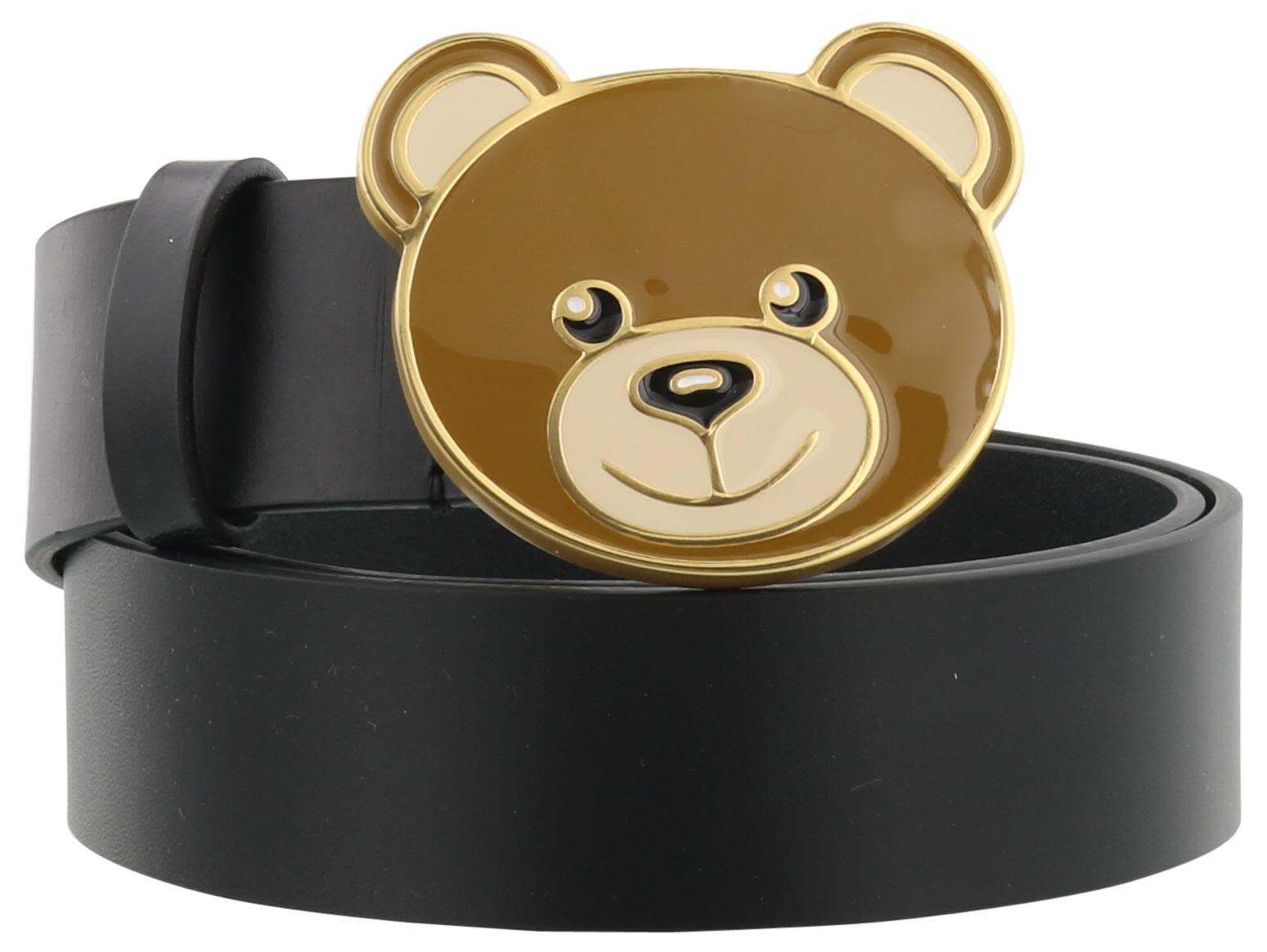 ready to bear belt - Black Moschino 5HQ9SkWjB