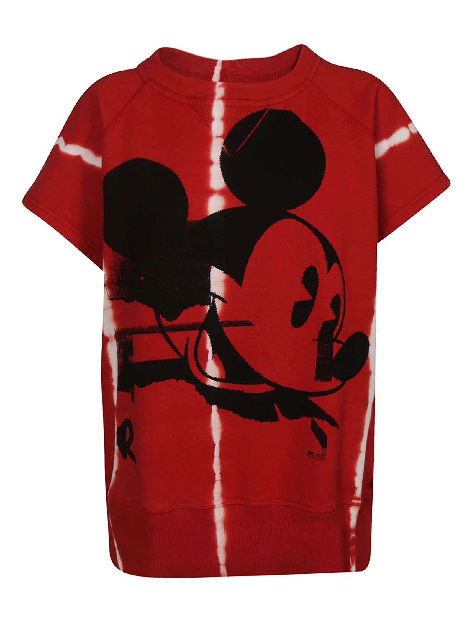 FAITH CONNEXION Mickey Mouse T-Shirt in Red