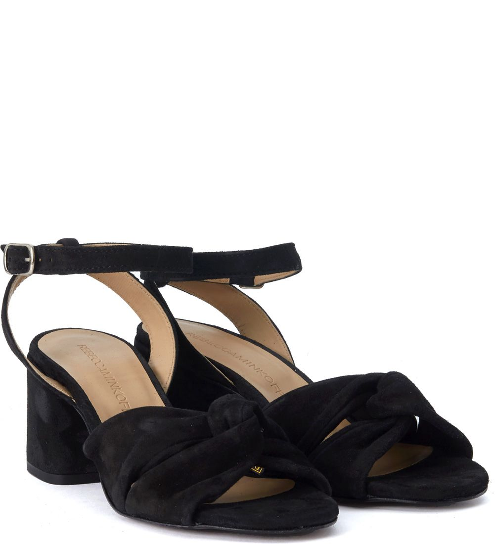 Rebecca Minkoff Romy Black Suede Sandal Outlet The Cheapest Cheap Sale Cheapest New Arrival Buy Cheap Ebay Outlet Locations Sale Online lSqf6S