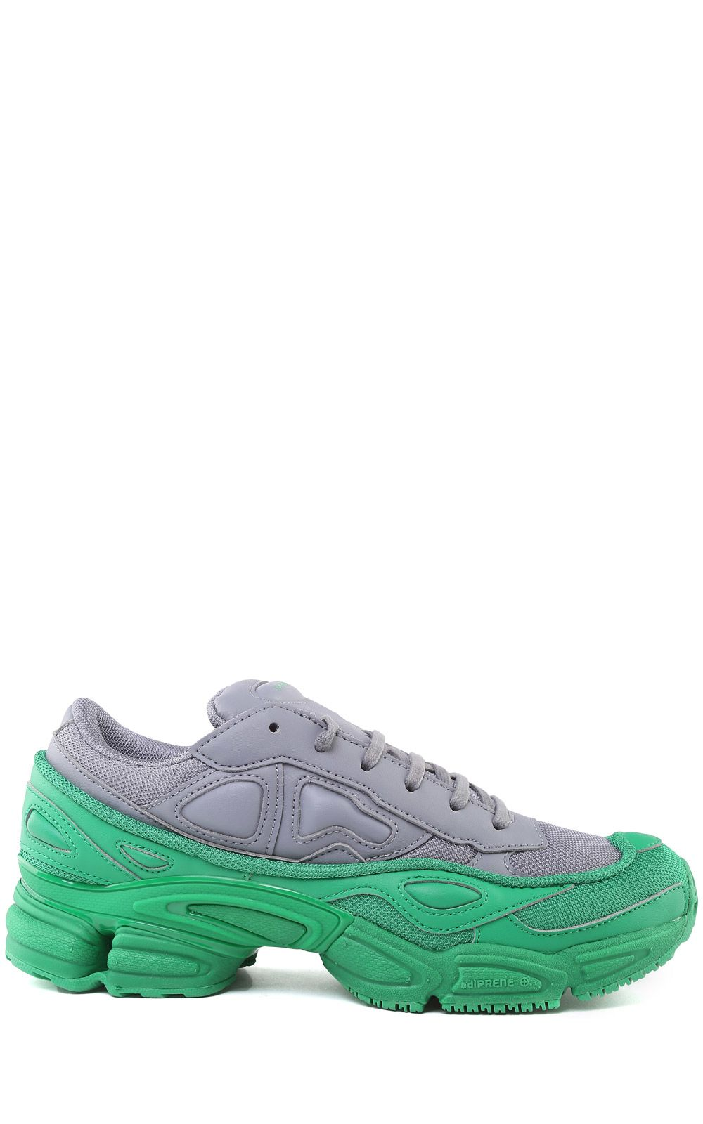 Ozweego Mesh And Leather Sneakers, Grigio