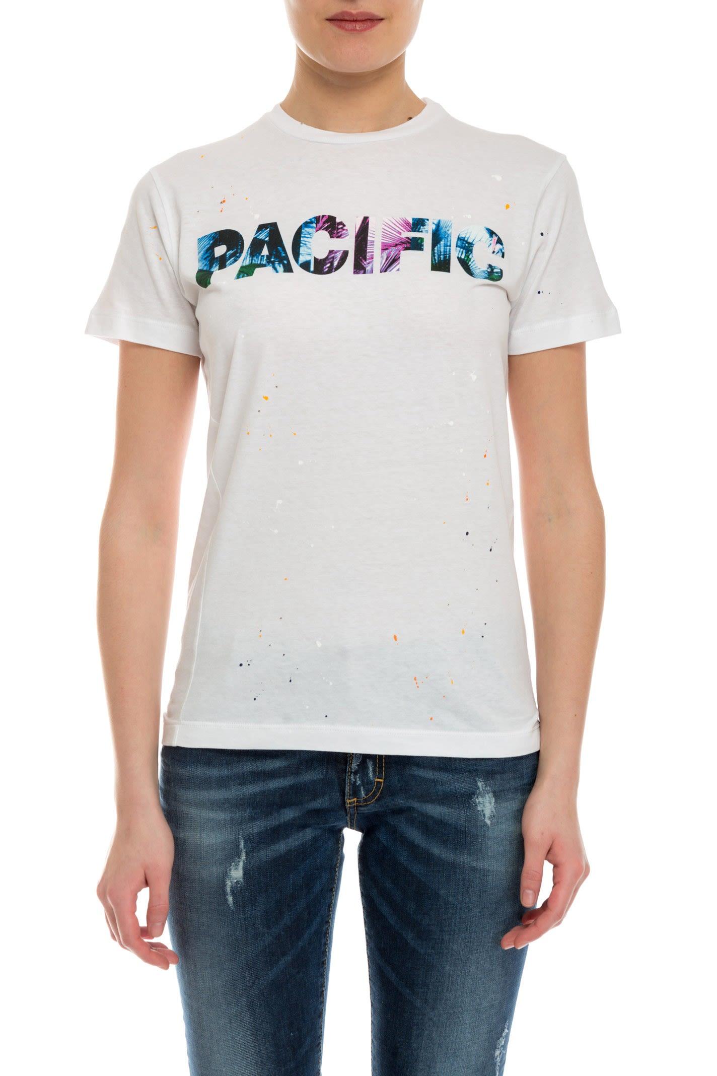 Cotton Blend T-shirt Fall/winter Dsquared2 LFWPYKck