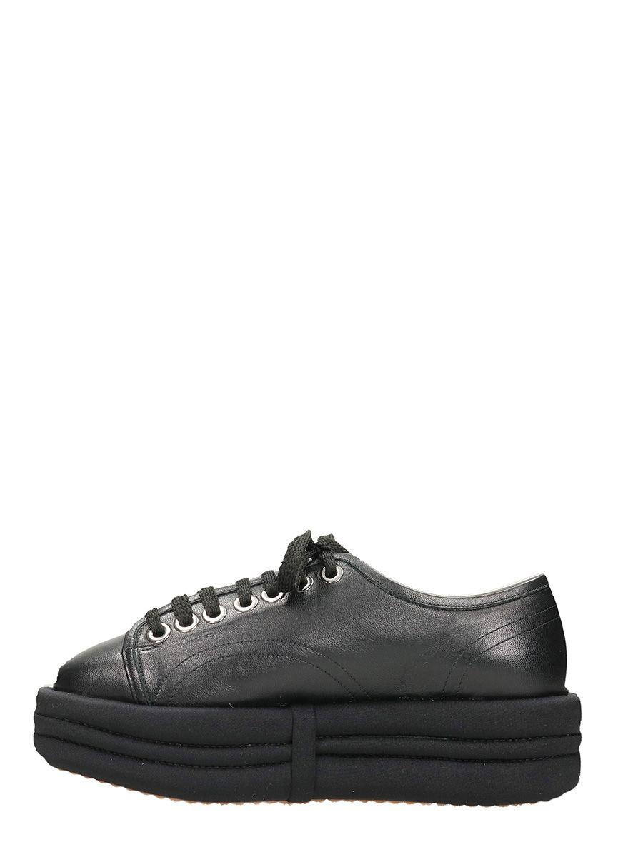 Diva leather sneakers - Black Marc Ellis ROkUiud2A
