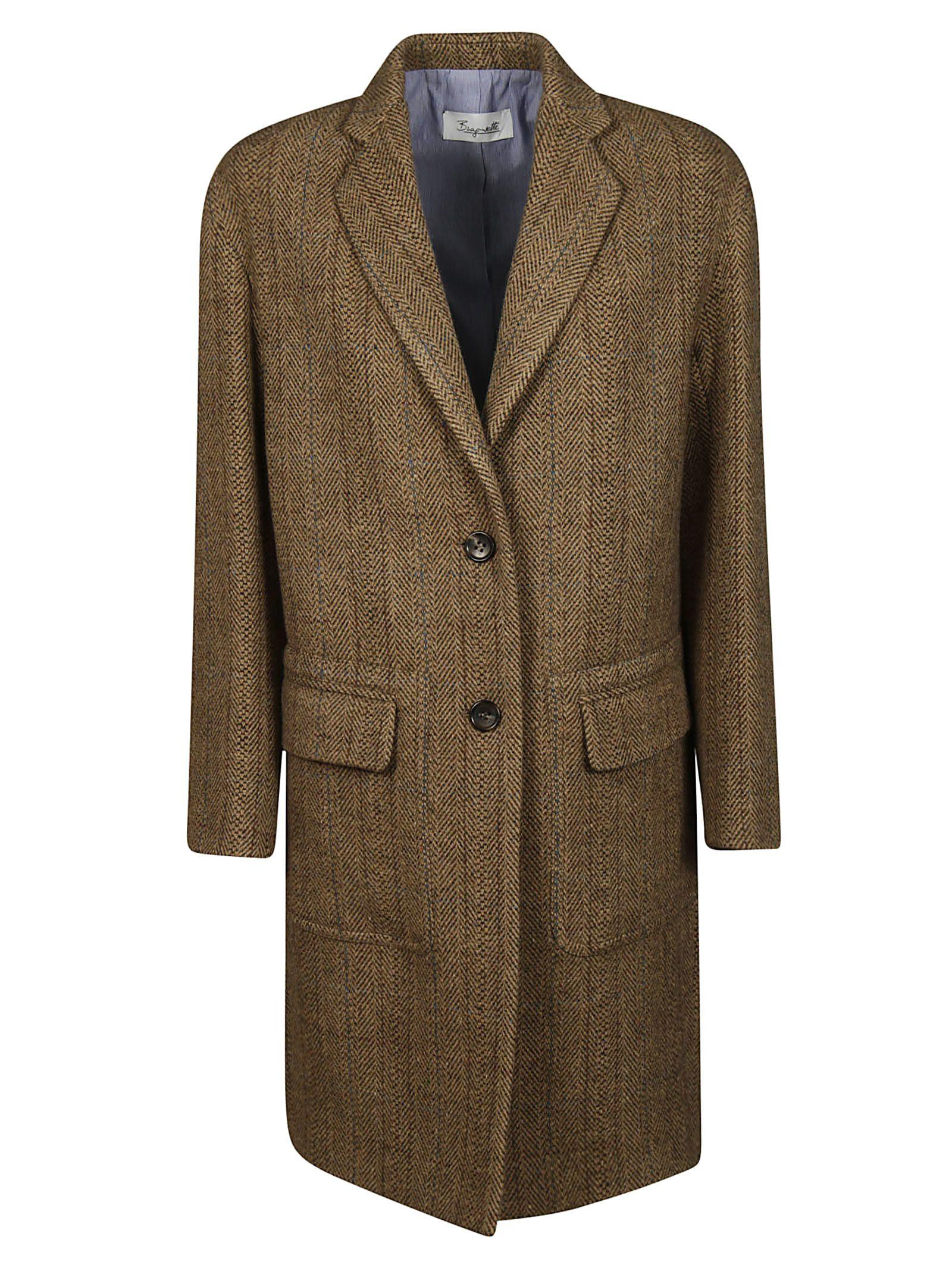 BRAG-WETTE Brag-Wette Single Breasted Coat