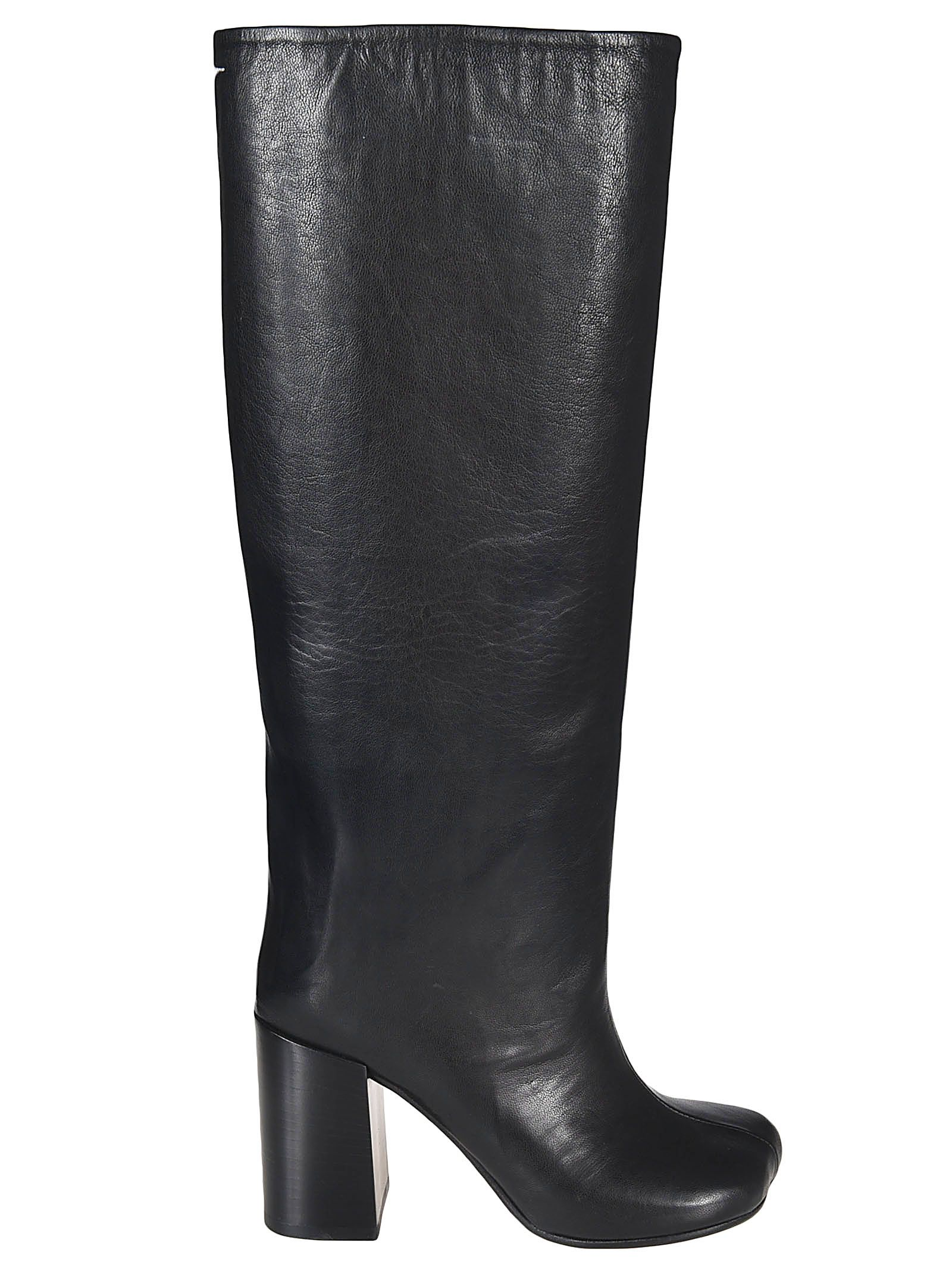 Mm6 Maison Margiela Tall Leather Boots