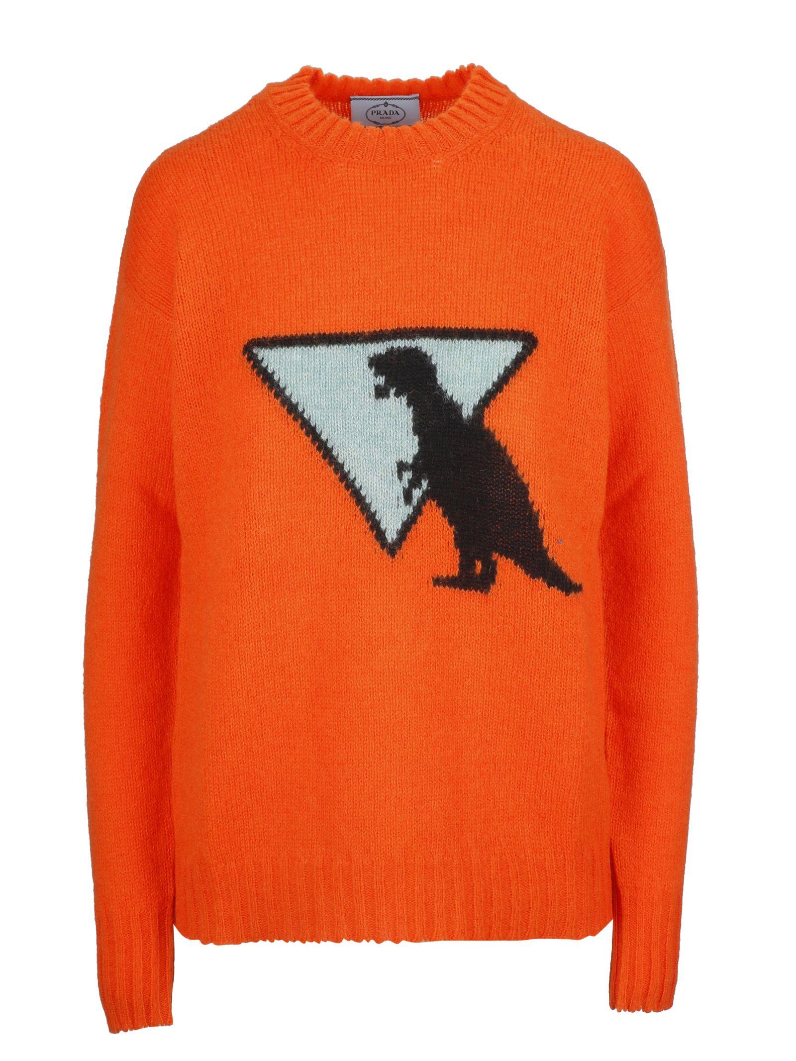 prada -  Dinosaur Intarsia Sweater