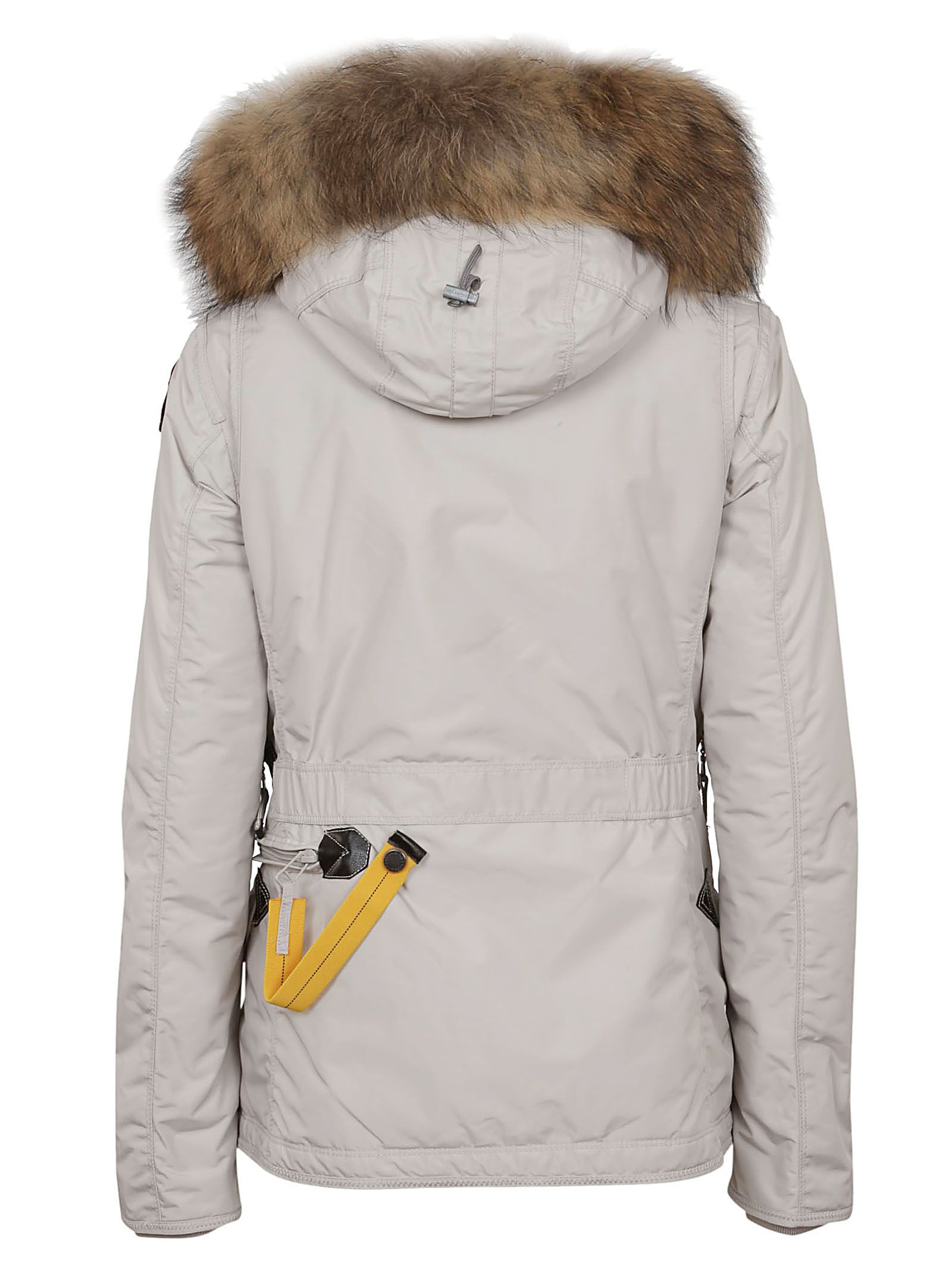 ... Parajumpers Zipped Padded Jacket - Silver Grey