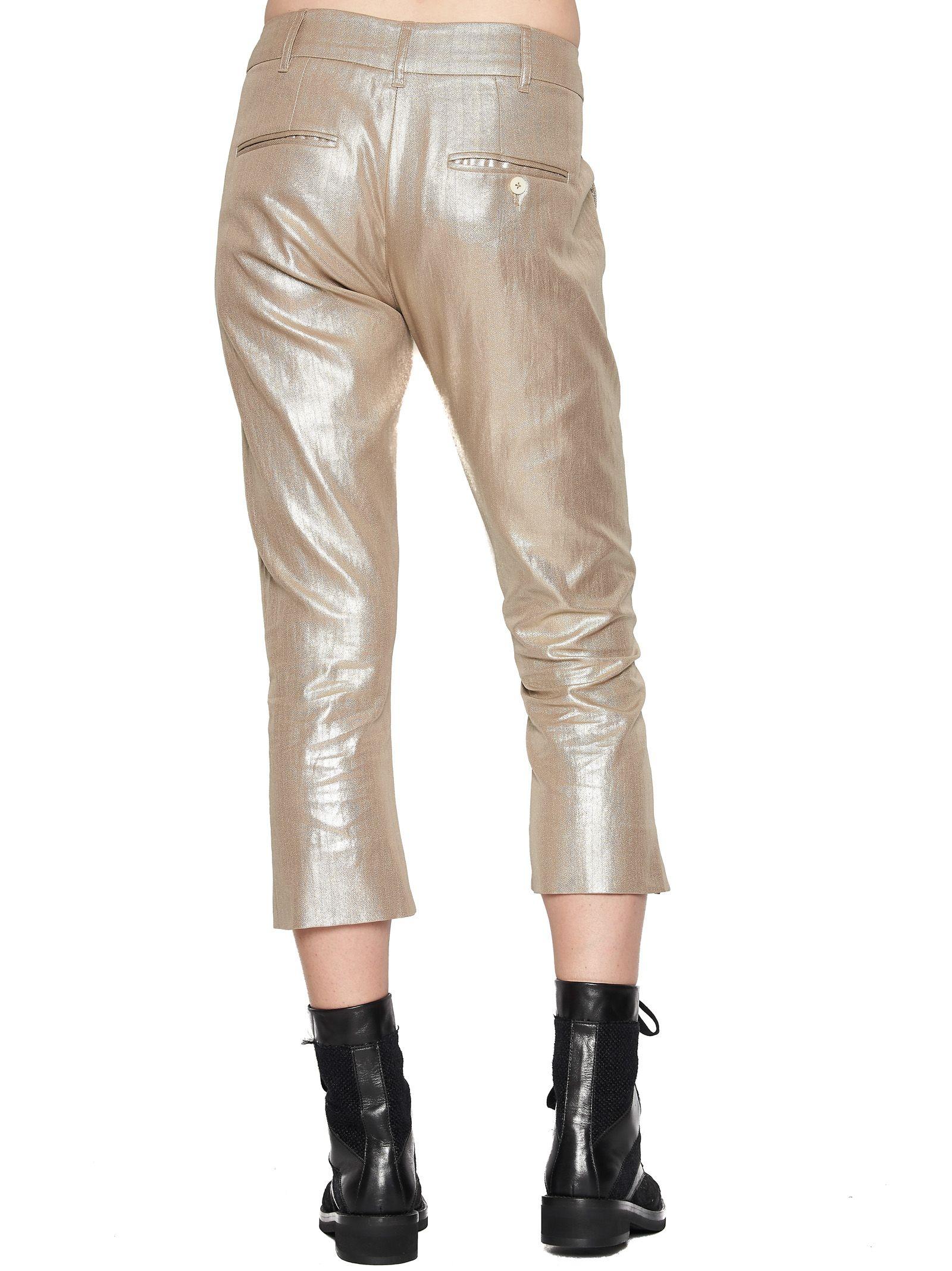 Best Wholesale Cheap Price Looking For Sale Online lurex pants Ann Demeulemeester The Cheapest For Sale Wholesale RQZn5Estde