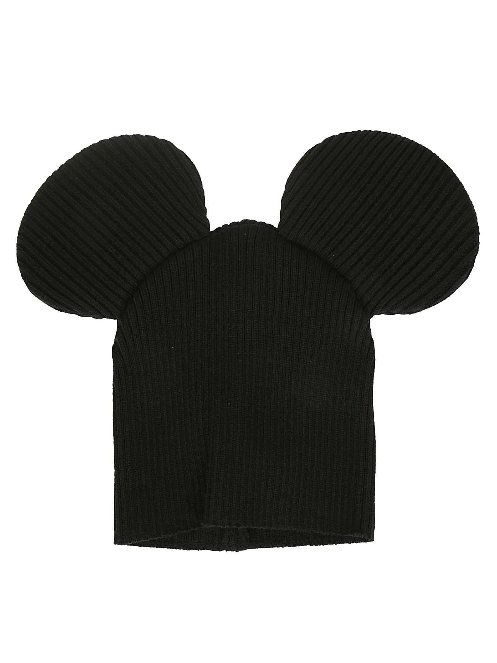 COMME DES GARÇONS BOYS Comme Des Garçons Boy Beany Mickey Mouse in Black