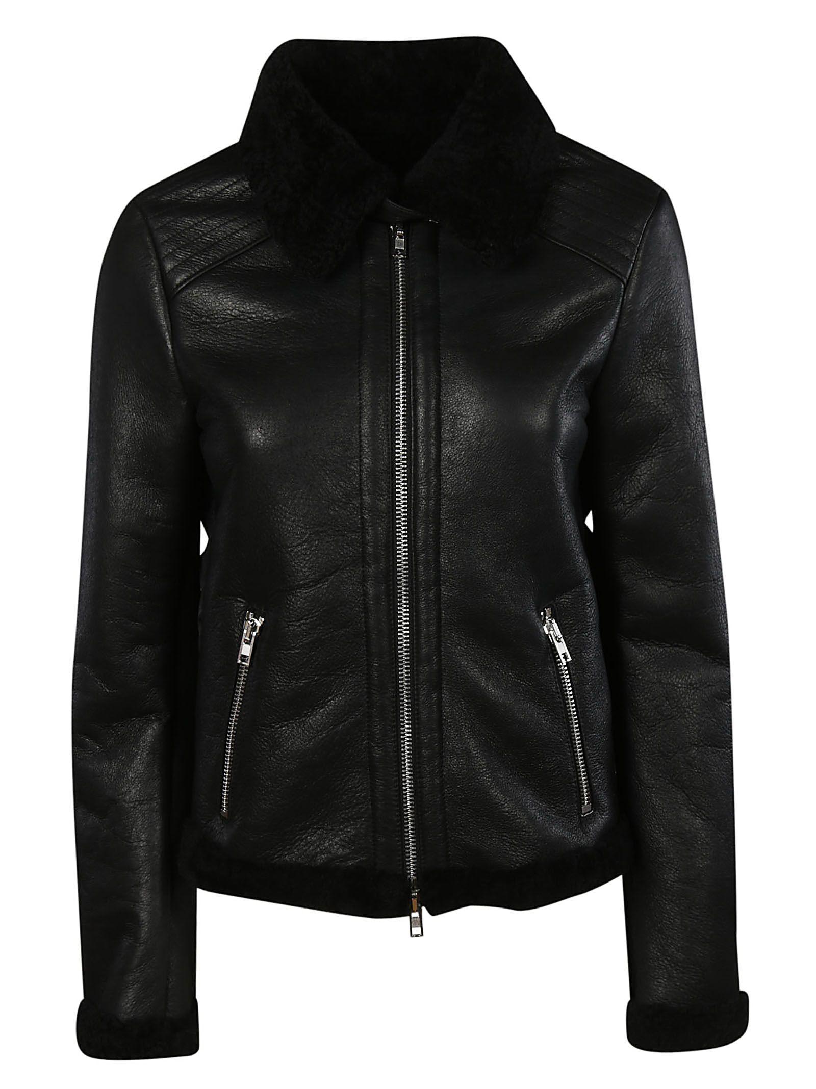 Montone Jacket in Nero
