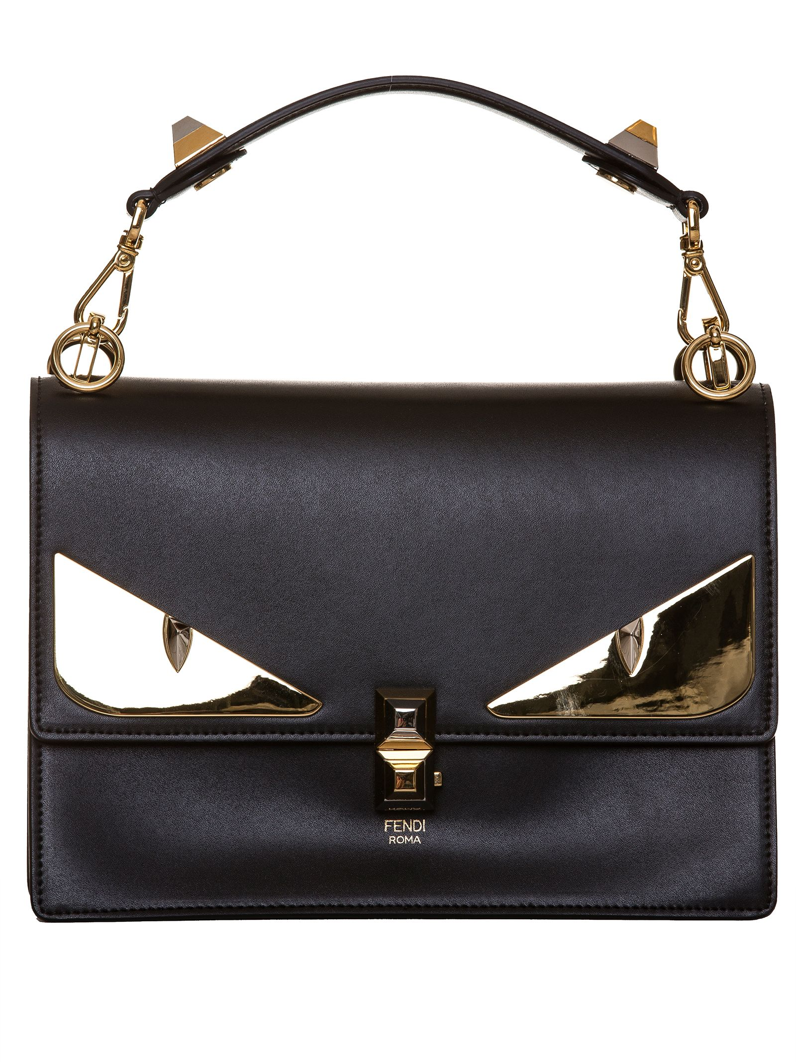 Fendi Bag Bugs Shoulder Bag  1e2564bee1d78