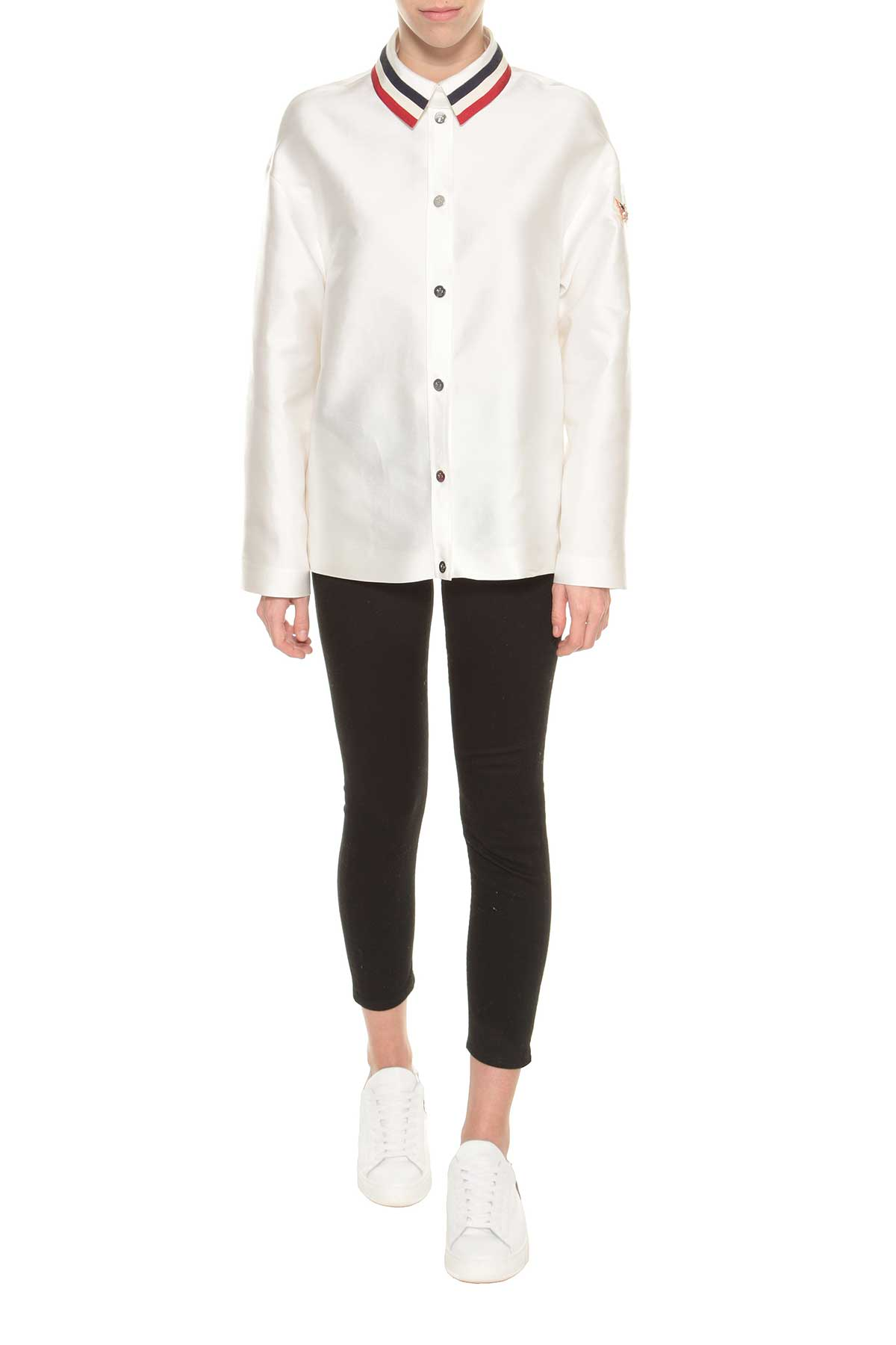 Moncler Gamme Rouge Satin Jacket Fouette