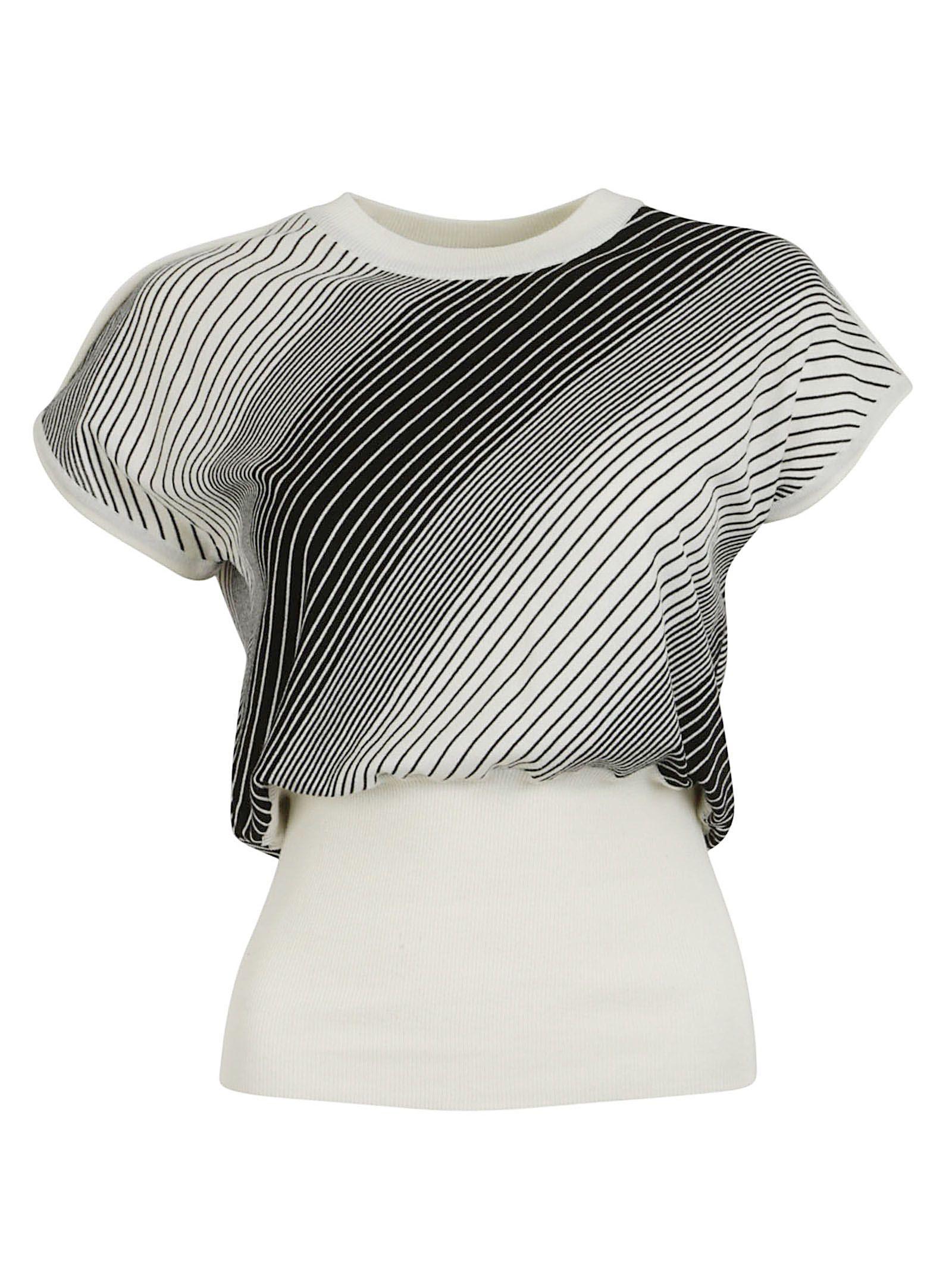 aalto female aalto short sleeves sweater