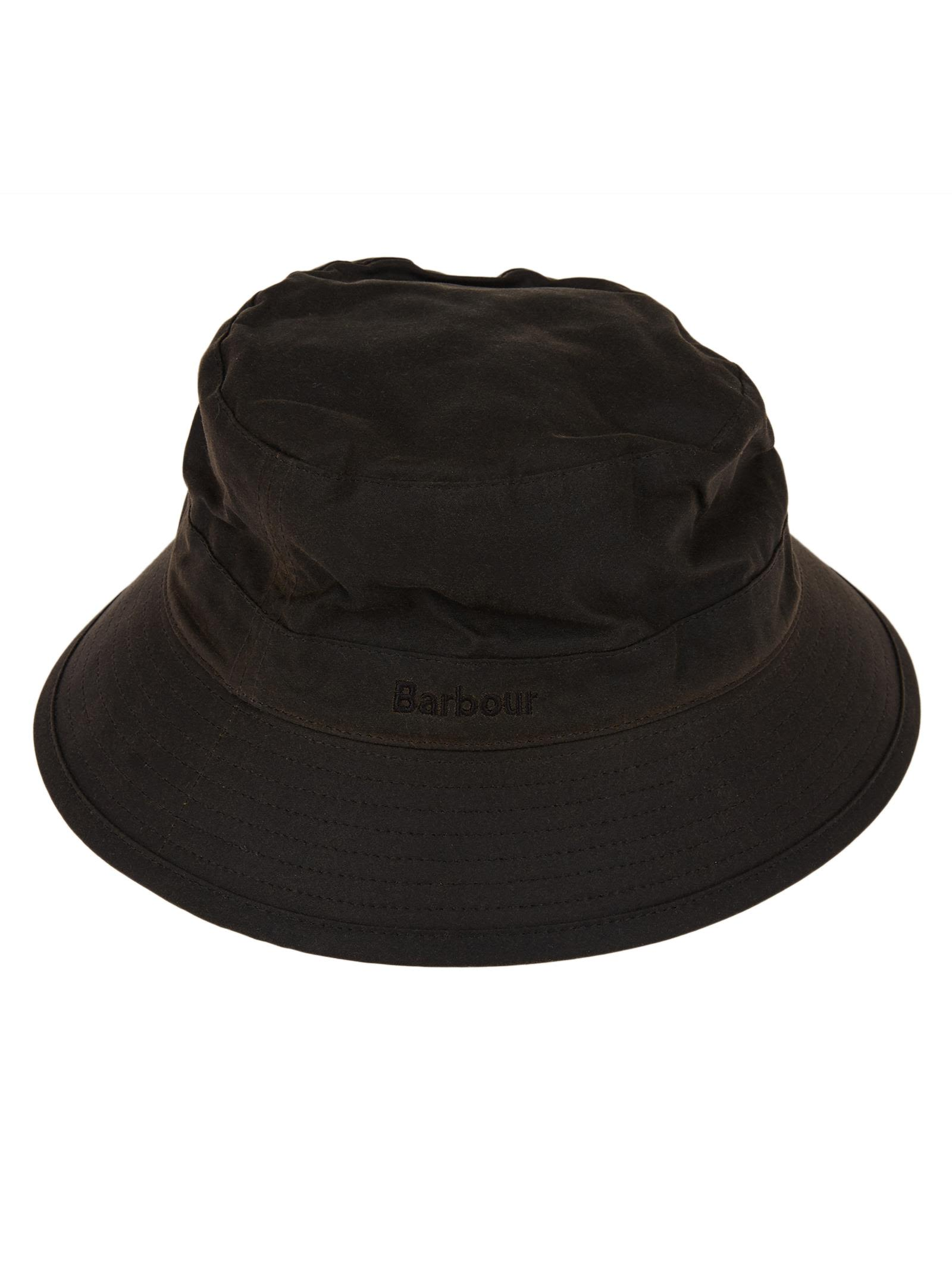 efc46e7f80c Barbour Embroidered Logo Hat In Olive
