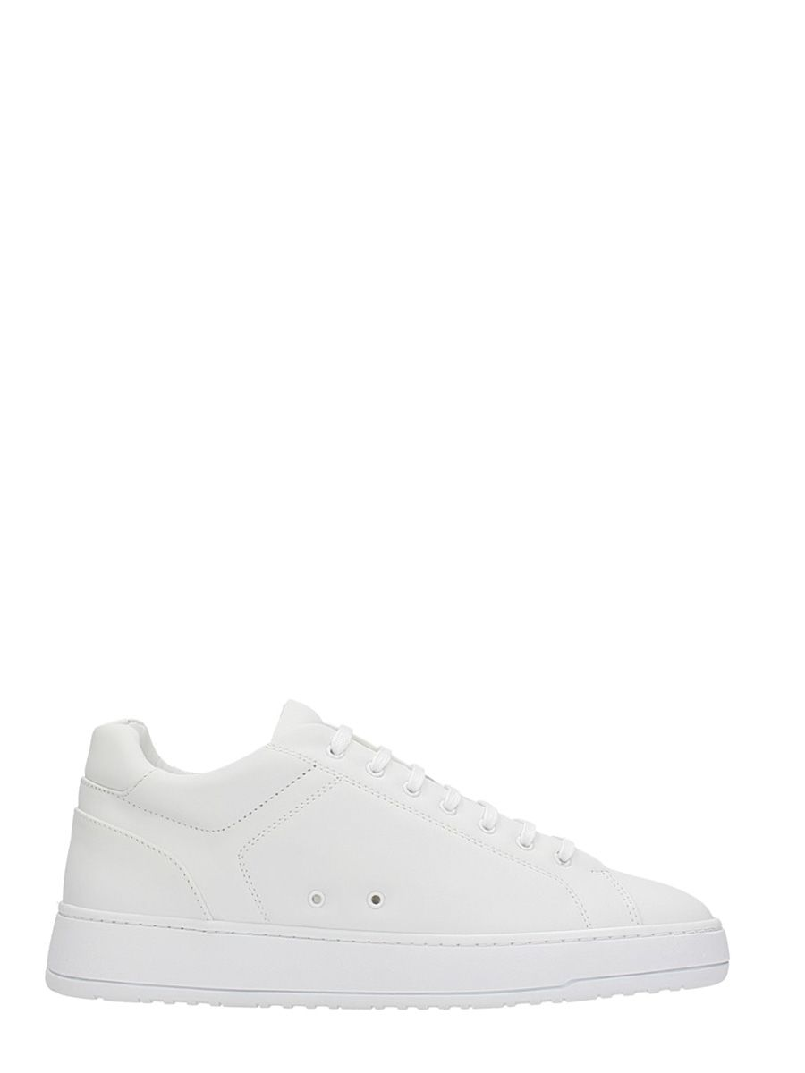 ETQ. LOW 4 WHITE LEATHER SNEAKERS