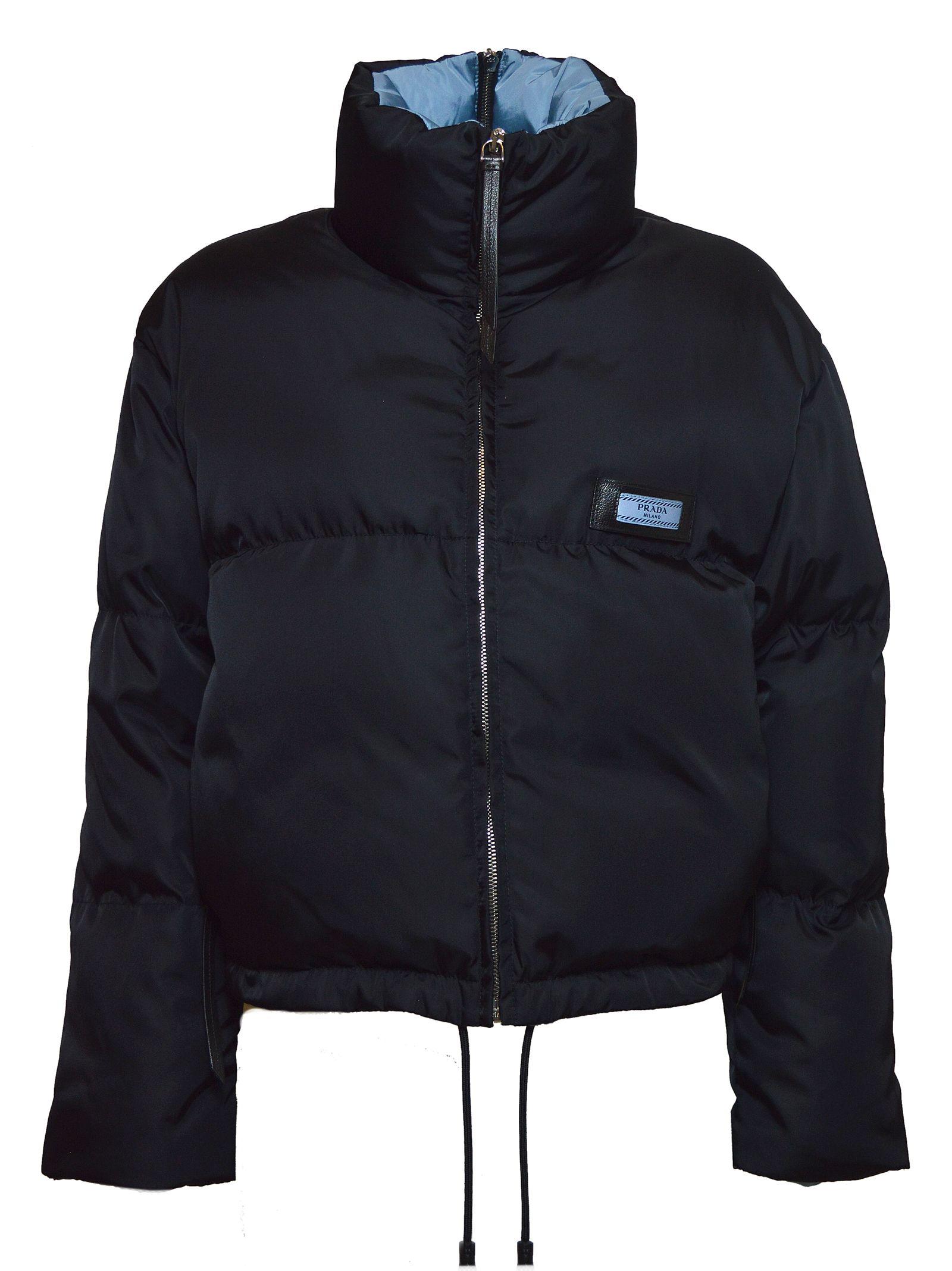 prada -  Short Etiquette Puffer Jacket