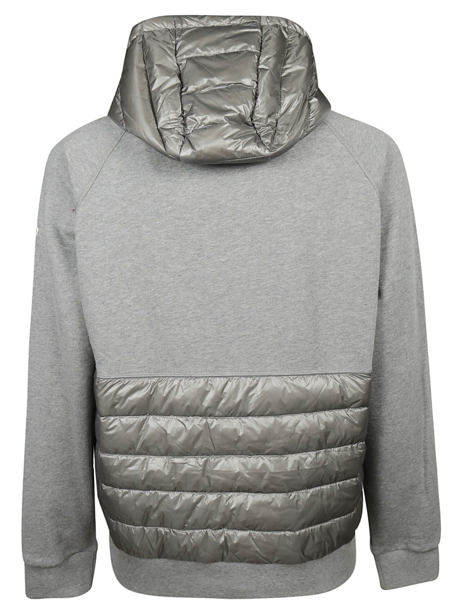 moncler black zip hoodie