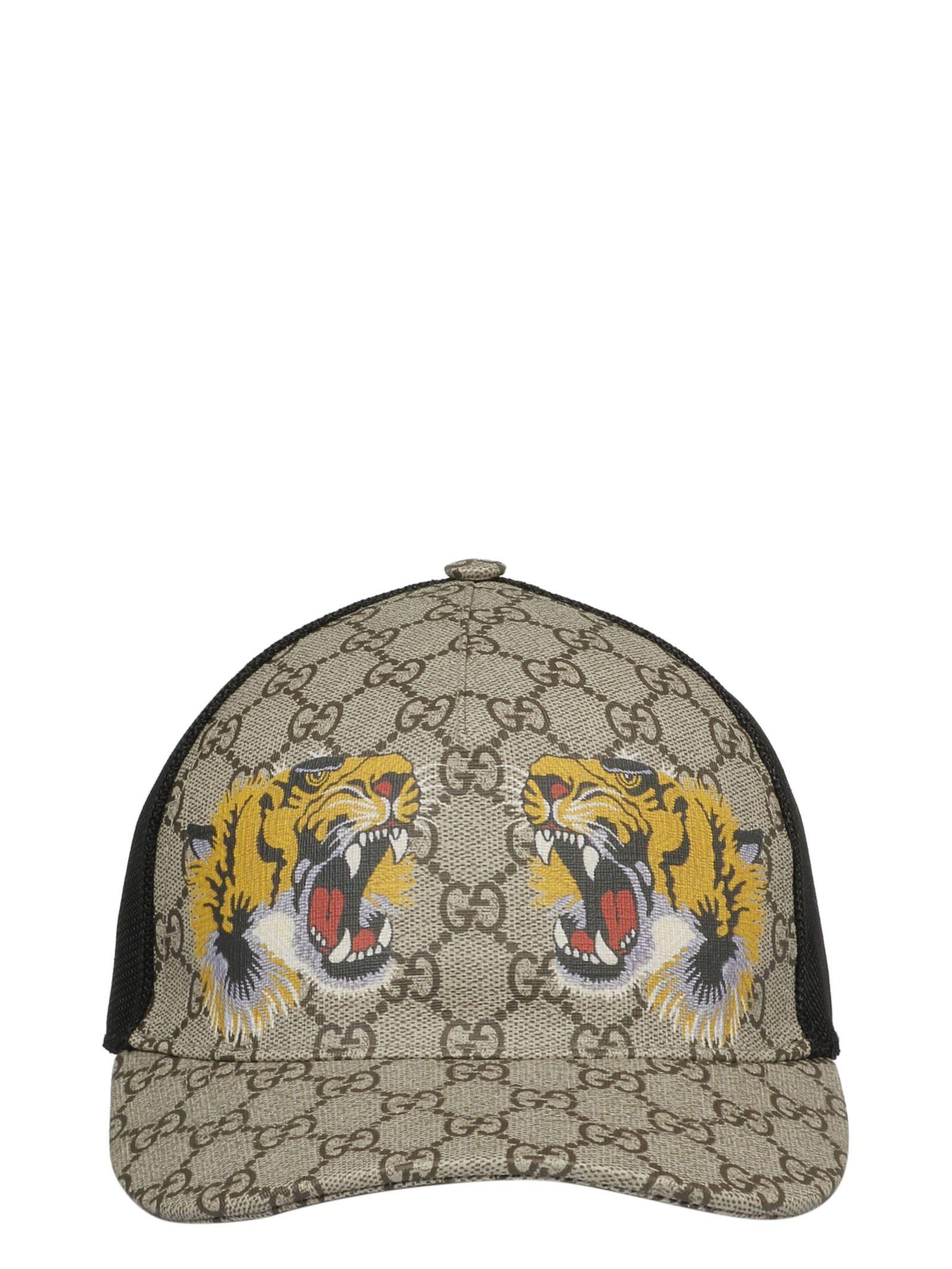 Gucci Gg Supreme Tiger Baseball Cap In 2160  90b1c1d1862