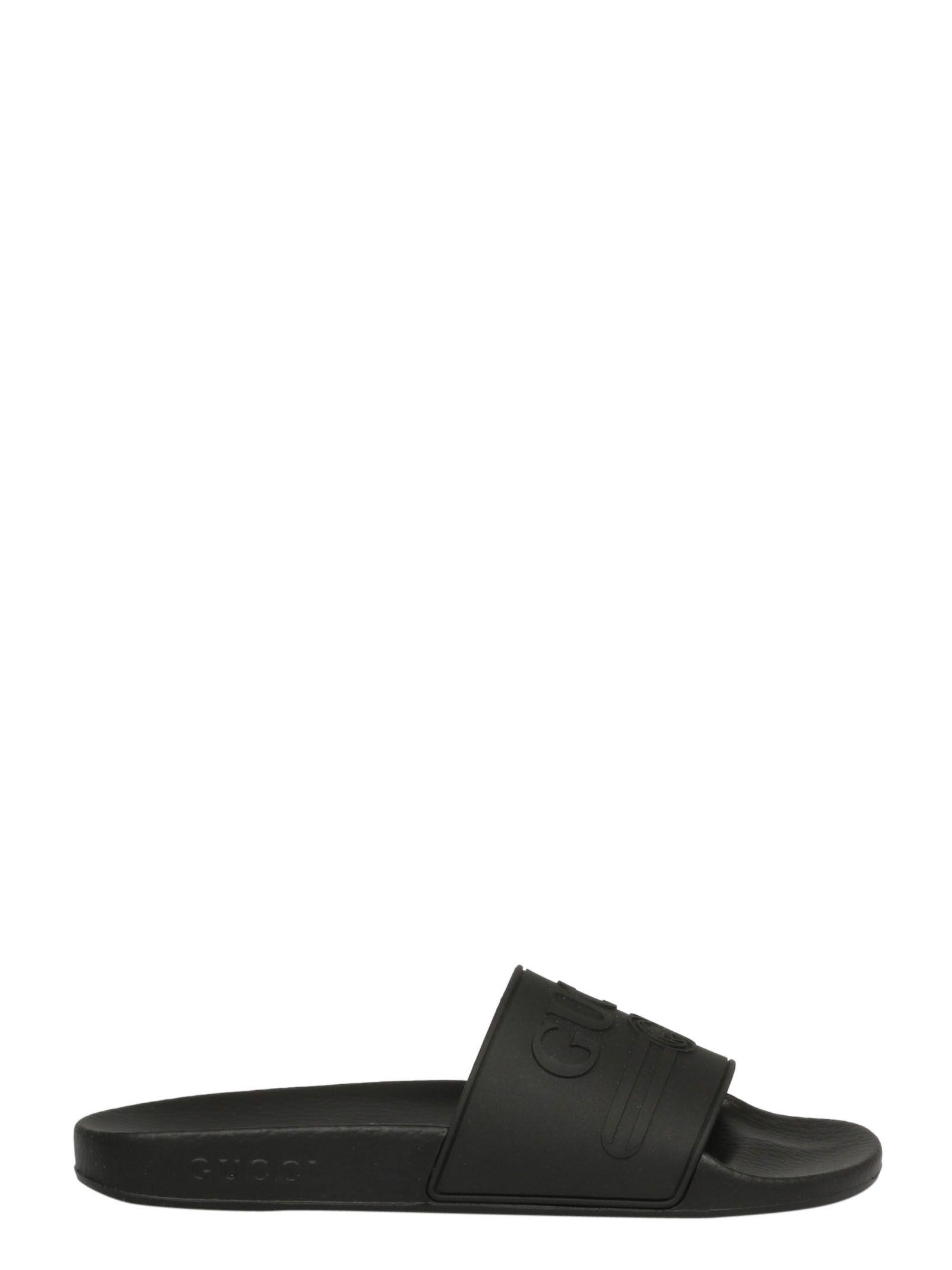 046c0435831097 Shop Gucci Logo Sliders In 1031