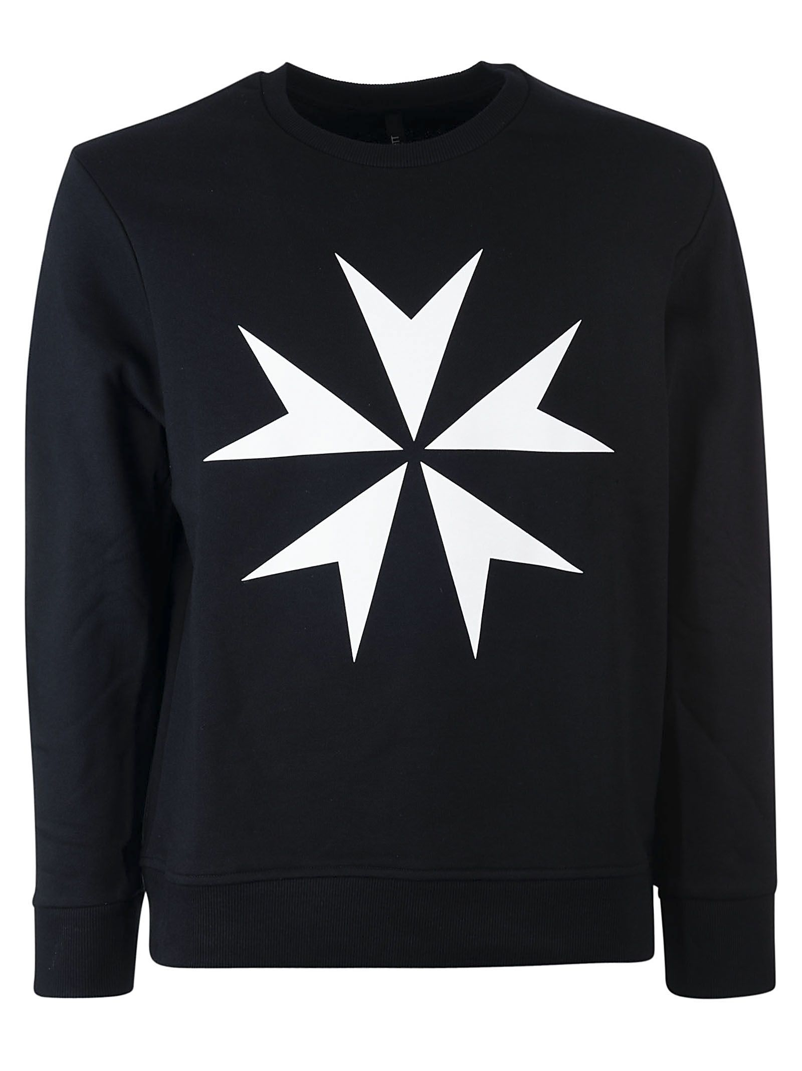 Neil Barrett Military Star Sweatshirt