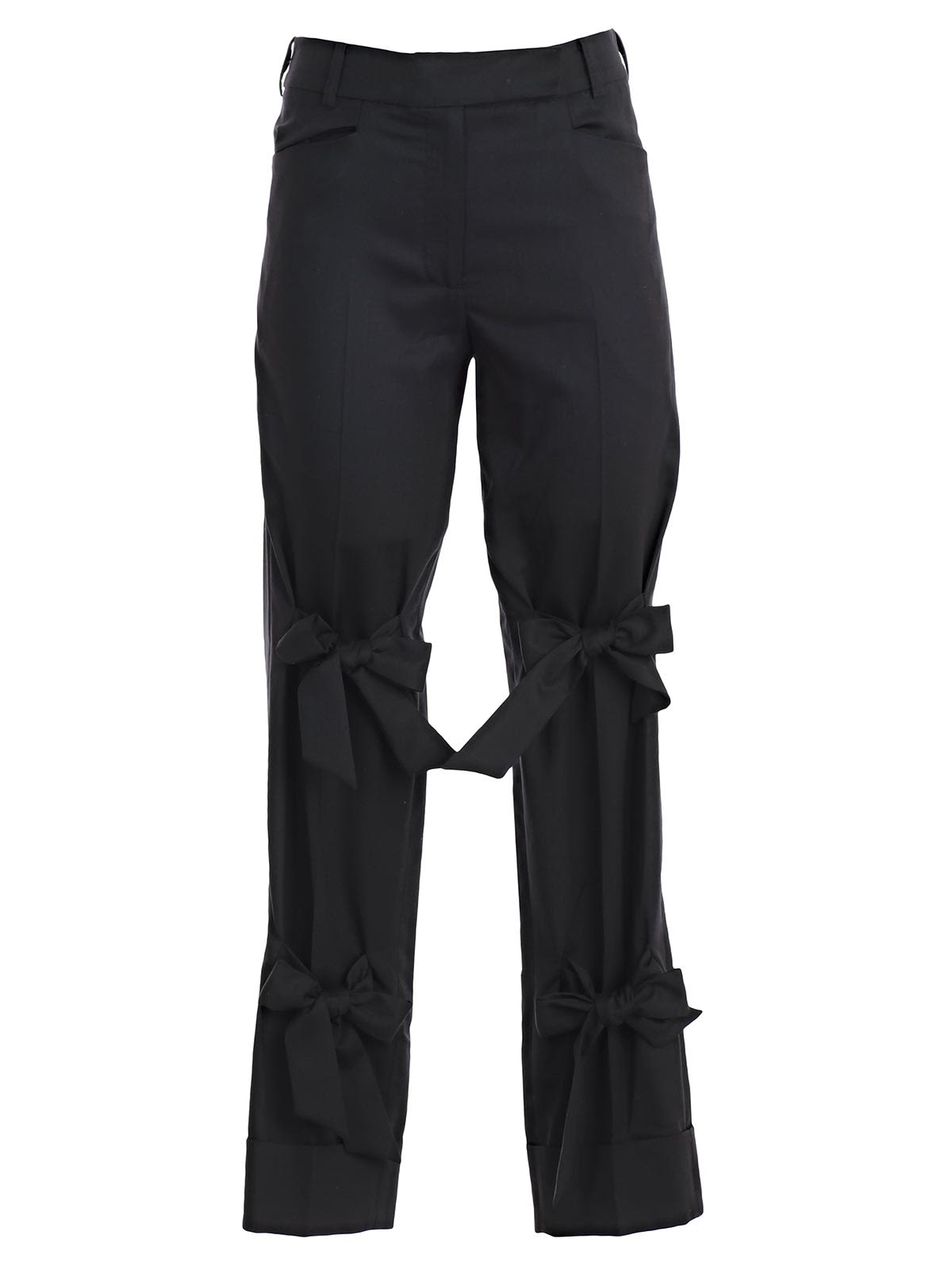 BOW DETAILS TROUSERS