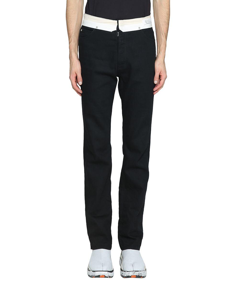 Maison Margiela Black Cotton Denim Jeans