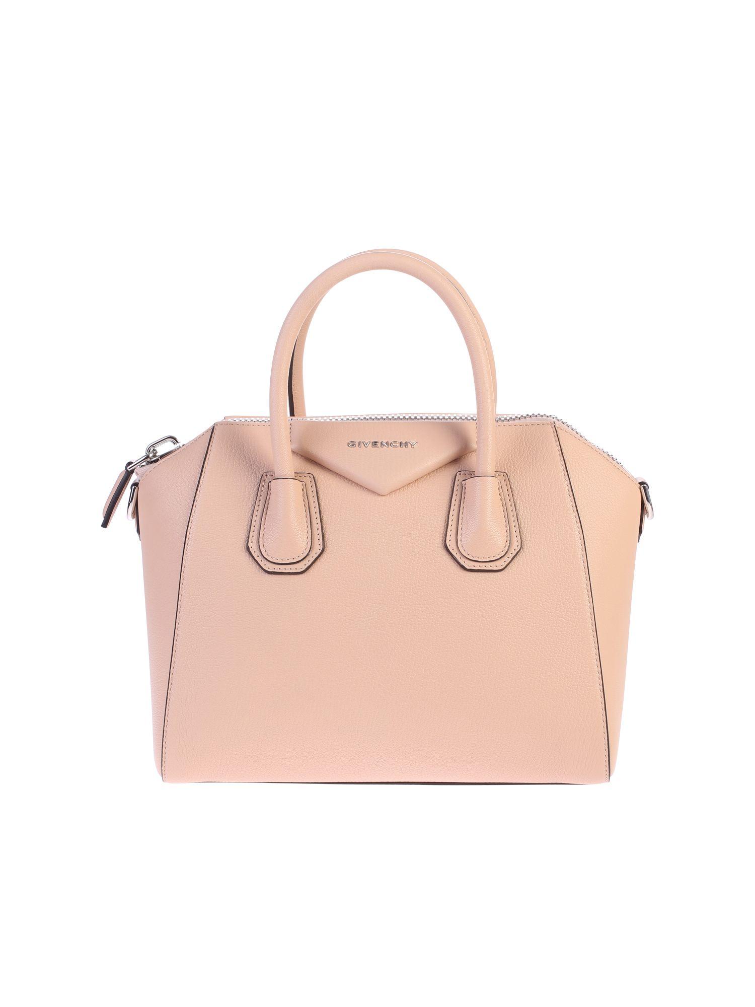 33c81cdcb5 GIVENCHY PINK SMALL ANTIGONA BAG