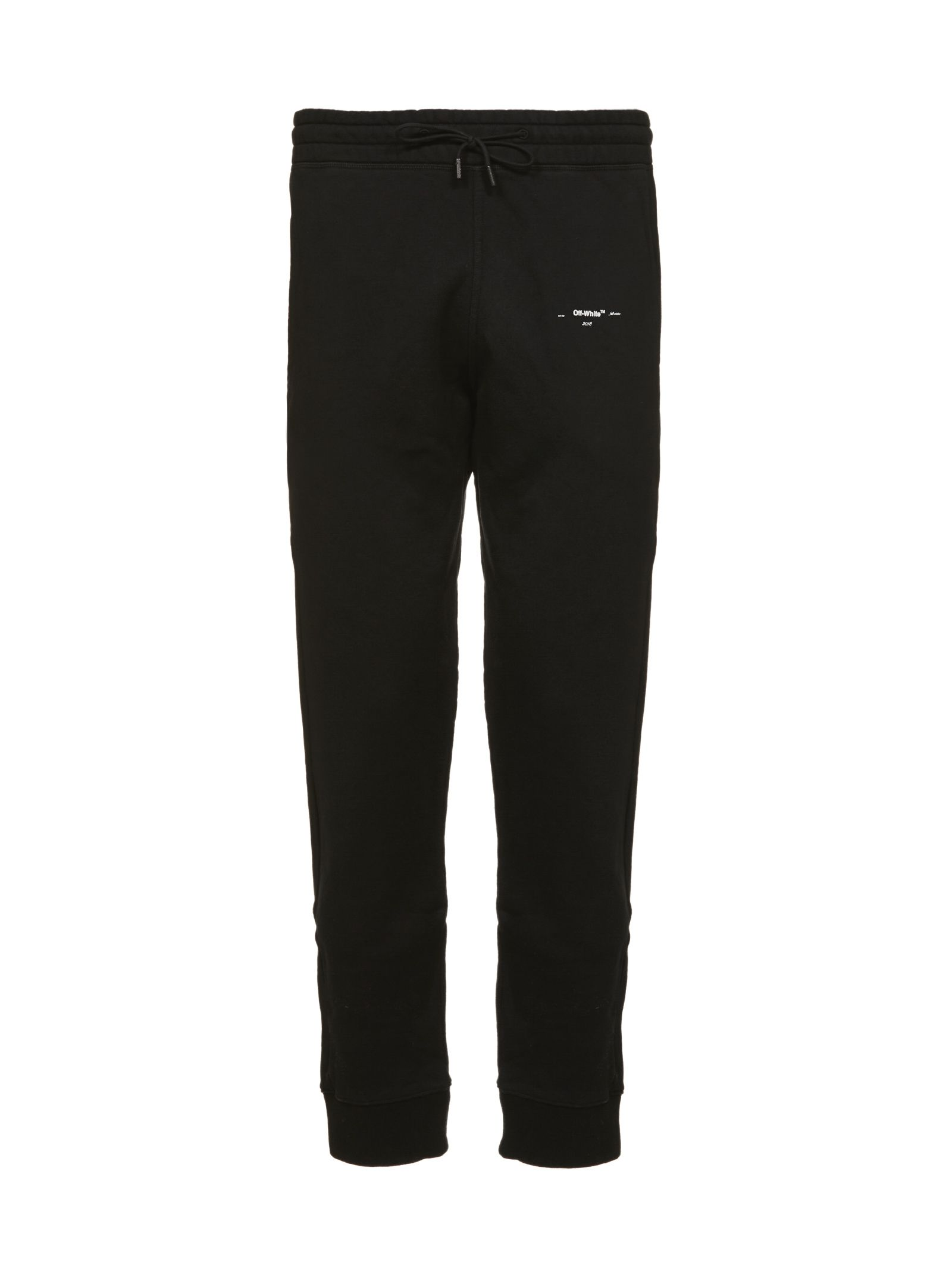 OFF-WHITE EMBROIDERED LOGO TRACK PANTS