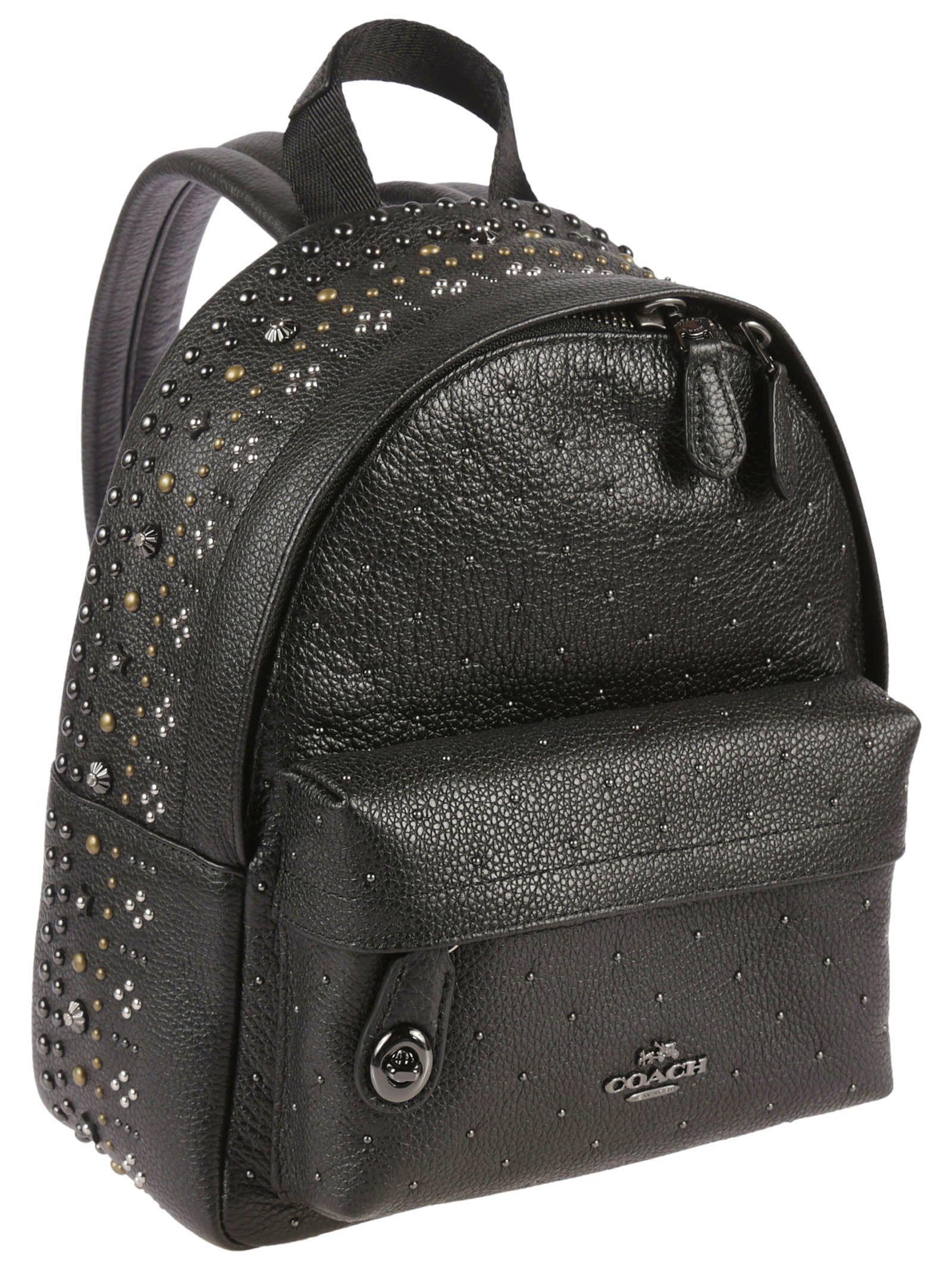6ba8d5f319d2cc Black Gold Studded Backpack- Fenix Toulouse Handball