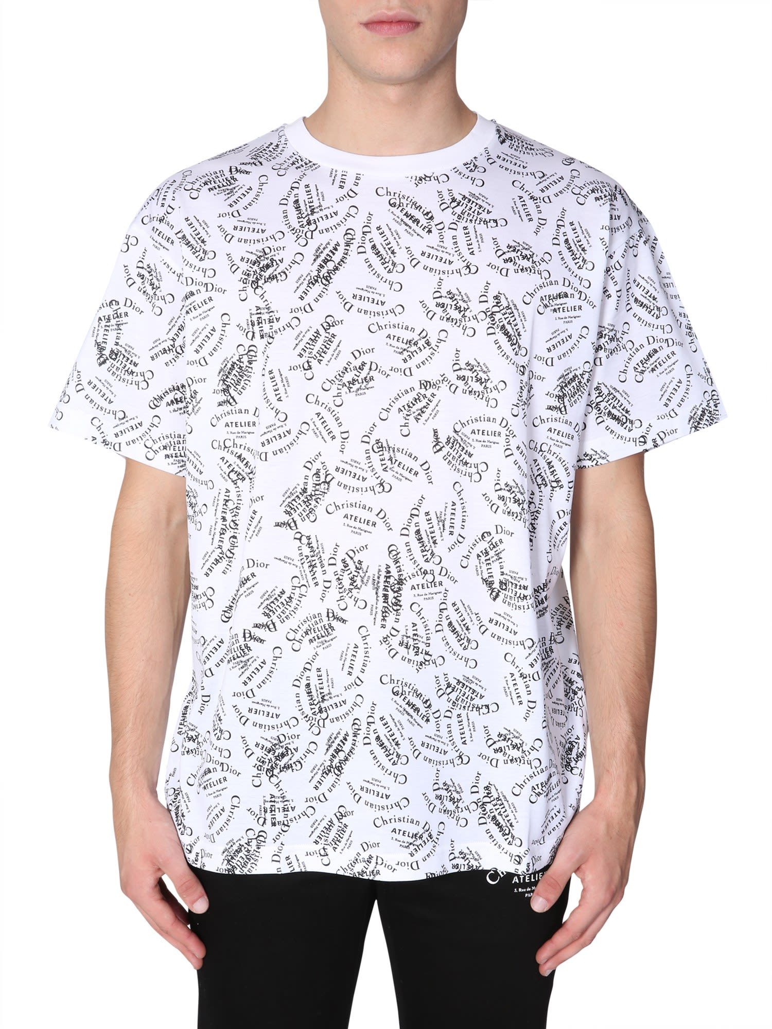 Dior Homme CHRISTIAN DIOR ATELIER PRINTED T-SHIRT