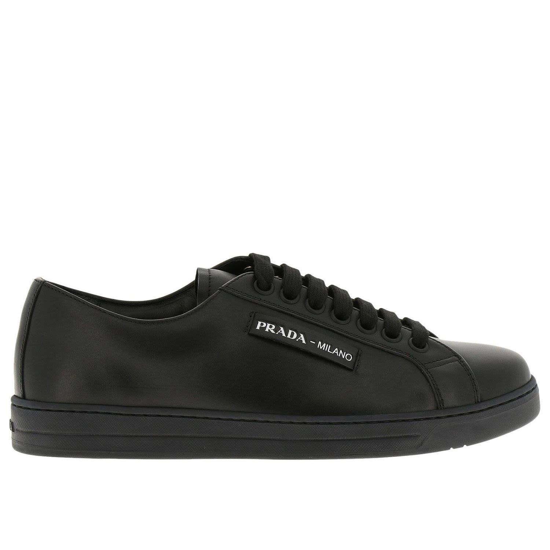 77dde90855da80 ... best prada sneakers shoes men black c4098 c73ec ...