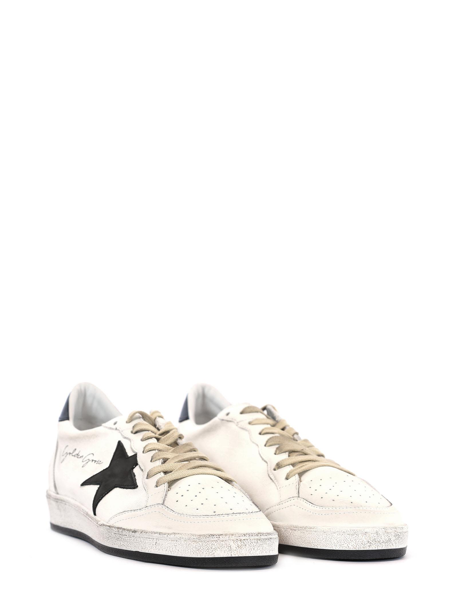 Golden Goose White Signature Ball Star Sneakers wNePBKb7Fn
