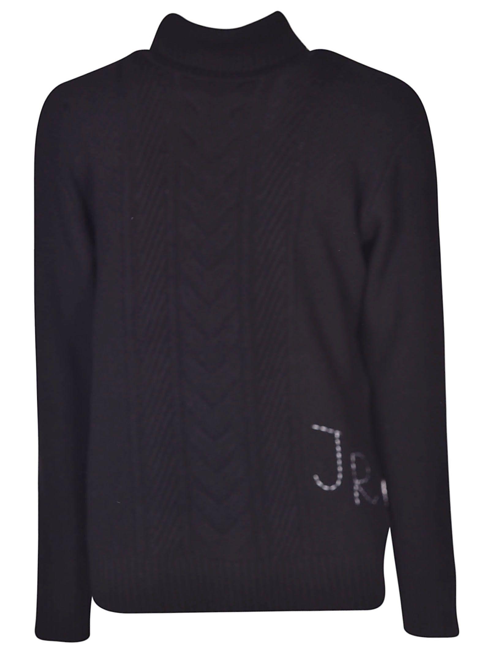 John Richmond Cable Knit Sweater