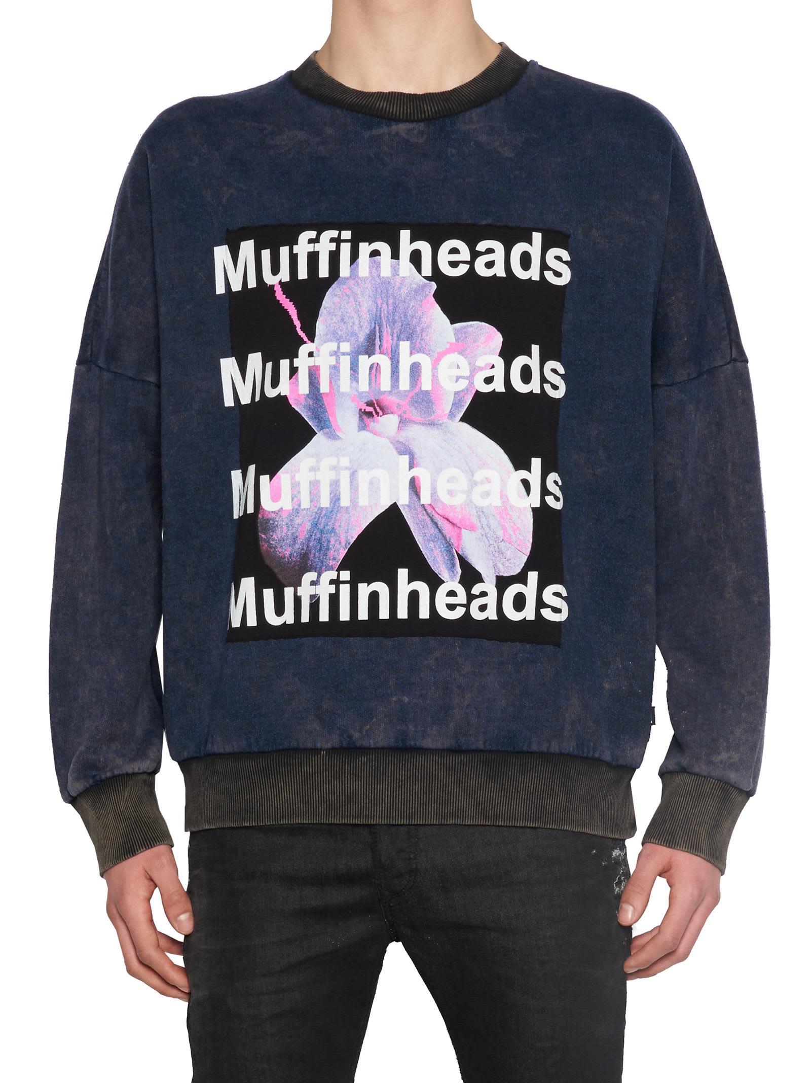 DIESEL Muffinheads Sweatshirt, Multicolor