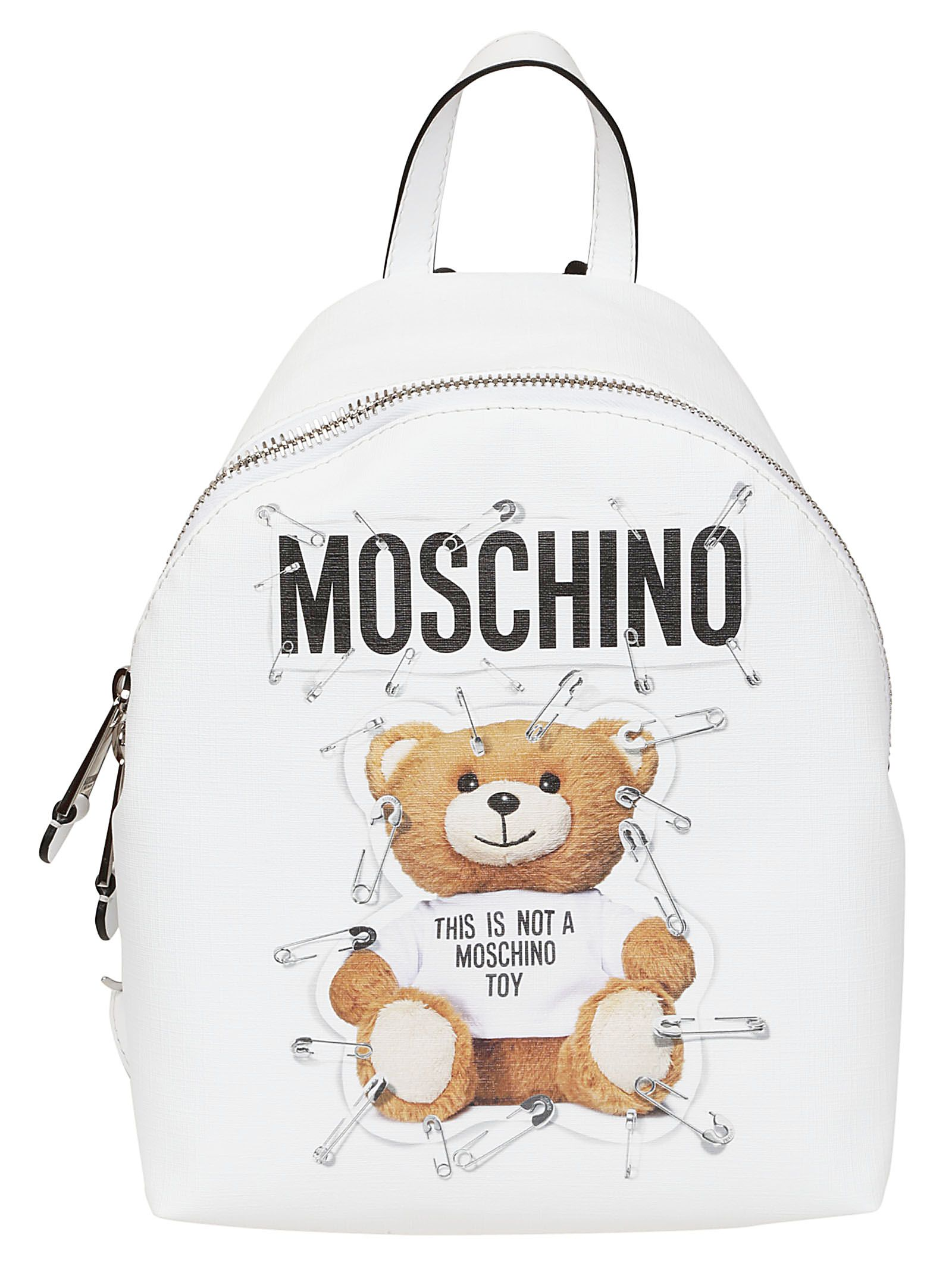 moschino -  Toy Bear Print Backpack