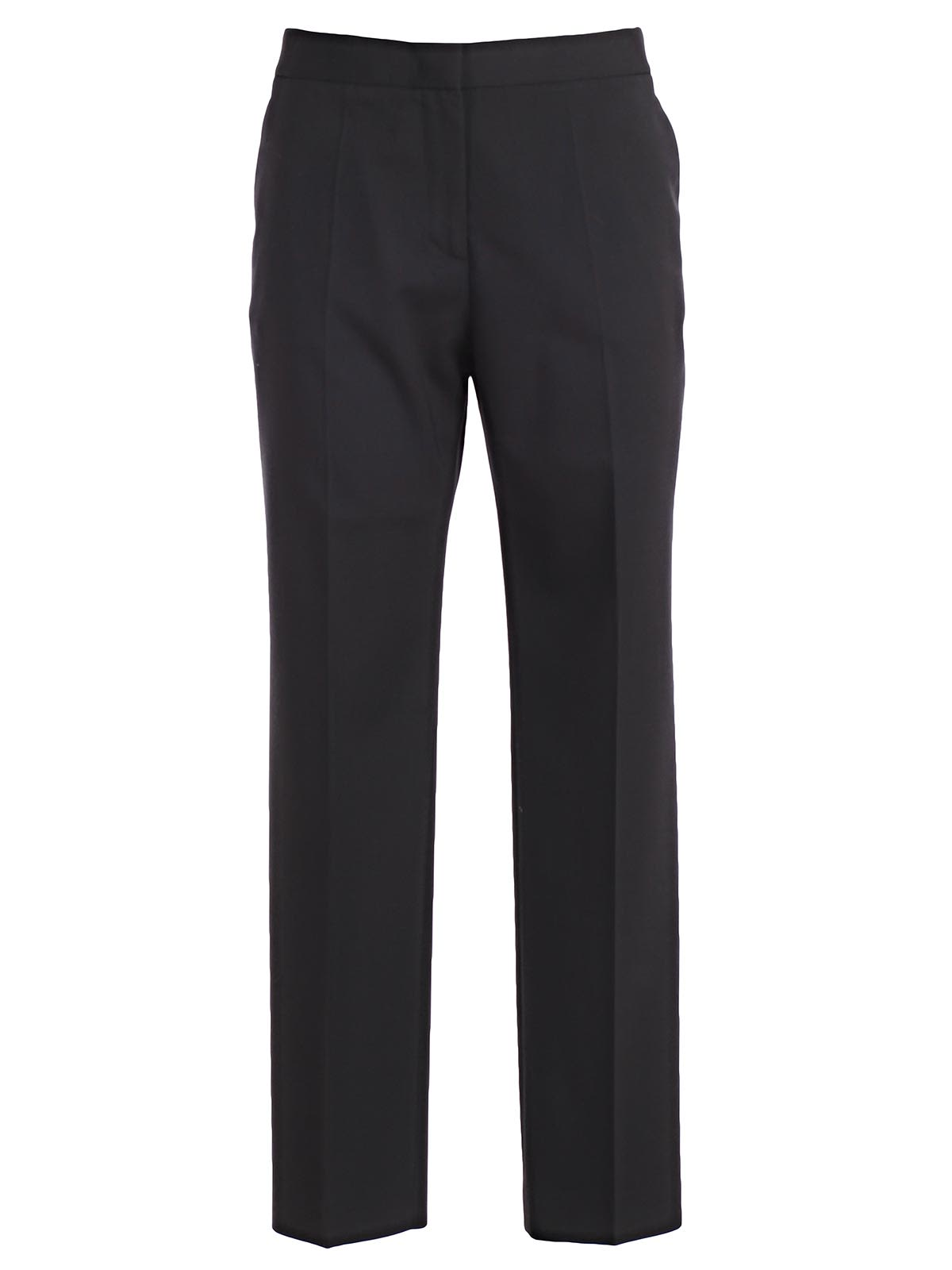 Mantu Cropped Straight Leg Trousers