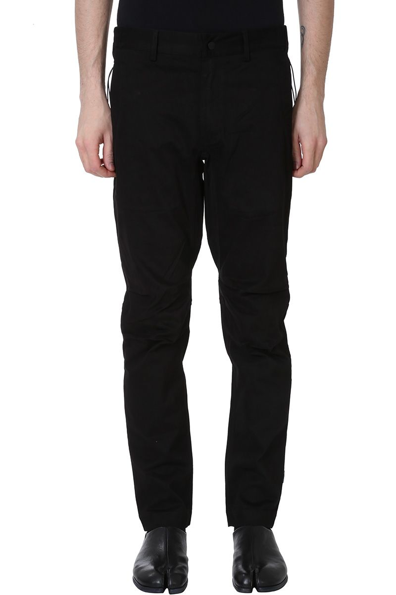 Maharishi Custom Black Cotton Pants