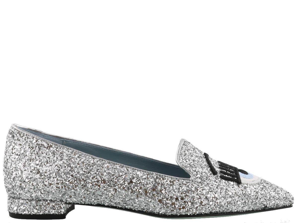 Chiara Ferragni Flirting Point Slippers Buy Cheap Classic QmedutMedc