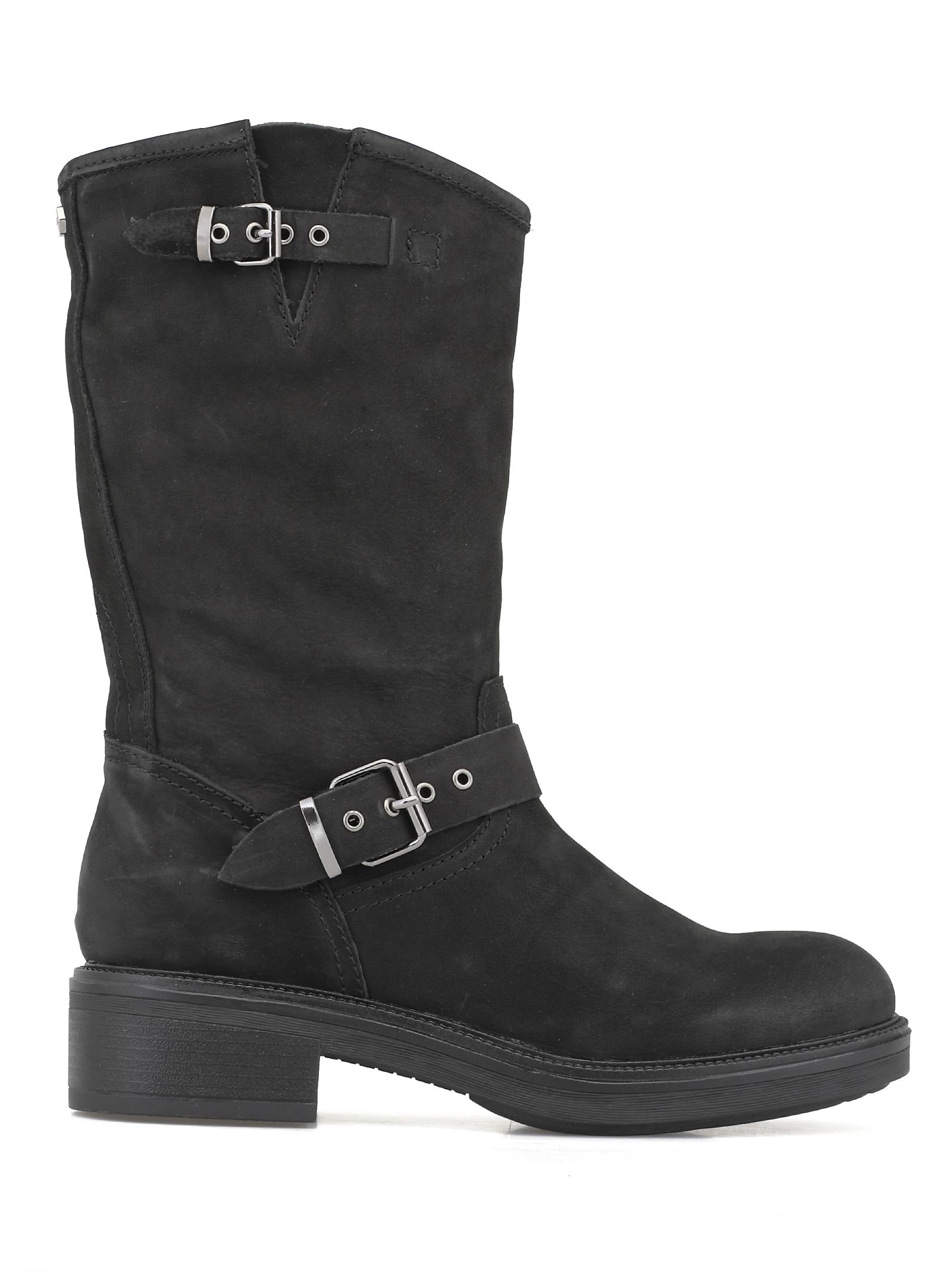 CULT Who Mid Boot 2504 in Black