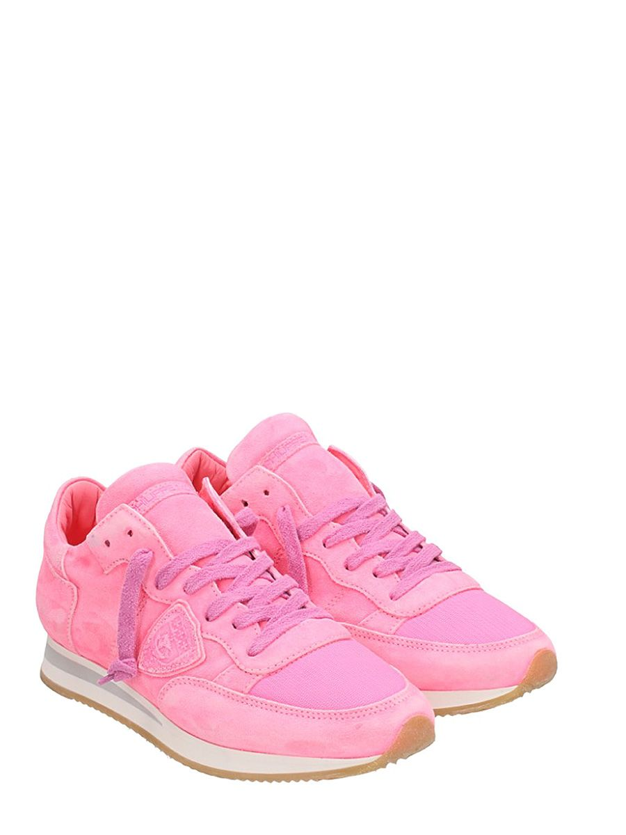 Philippe model Tropez Pink Suede Sneakers Outlet Discounts Cheap Sale Sale Cheap Sale Outlet Locations 2018 New Cheap Sale New imRM7H