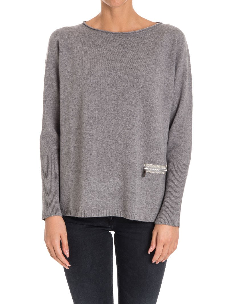 Find Great Cheap Price Clearance Cheap Online Fabiana Filippi zipped fitted sweater Clearance For Sale Cheap Comfortable Quality Free Shipping Low Price UM4njm8c
