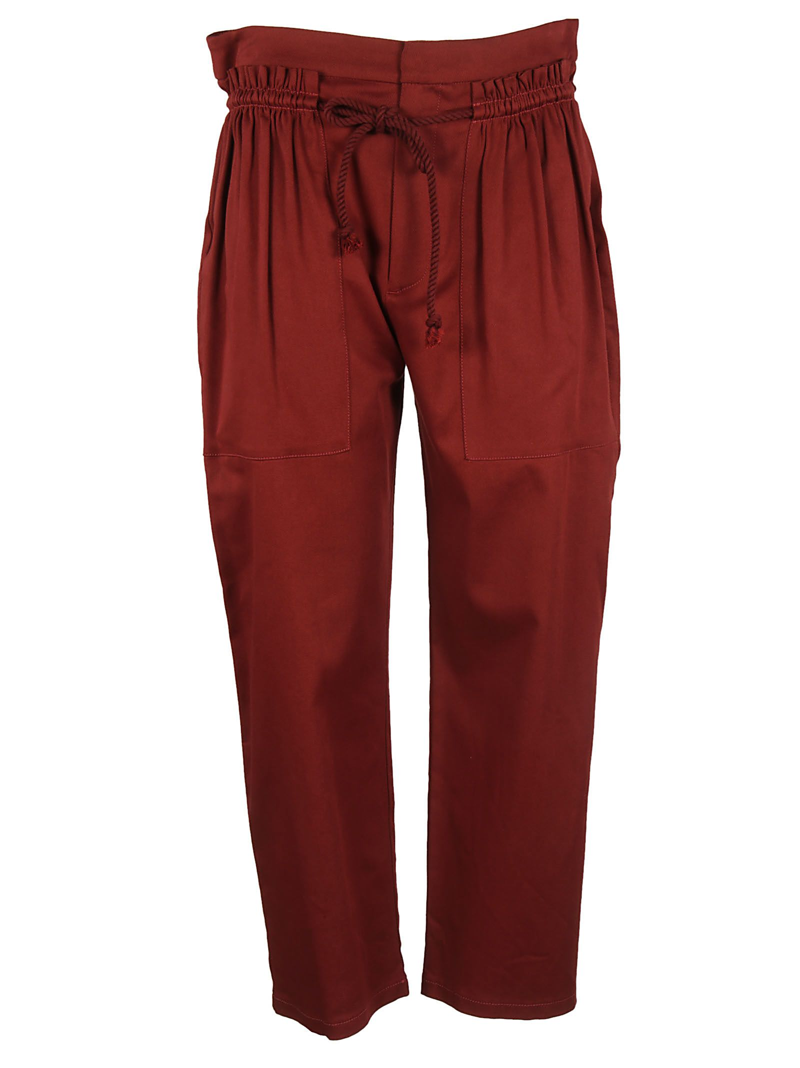 See By Chloã© High Waist Cropped Trousers 10583671