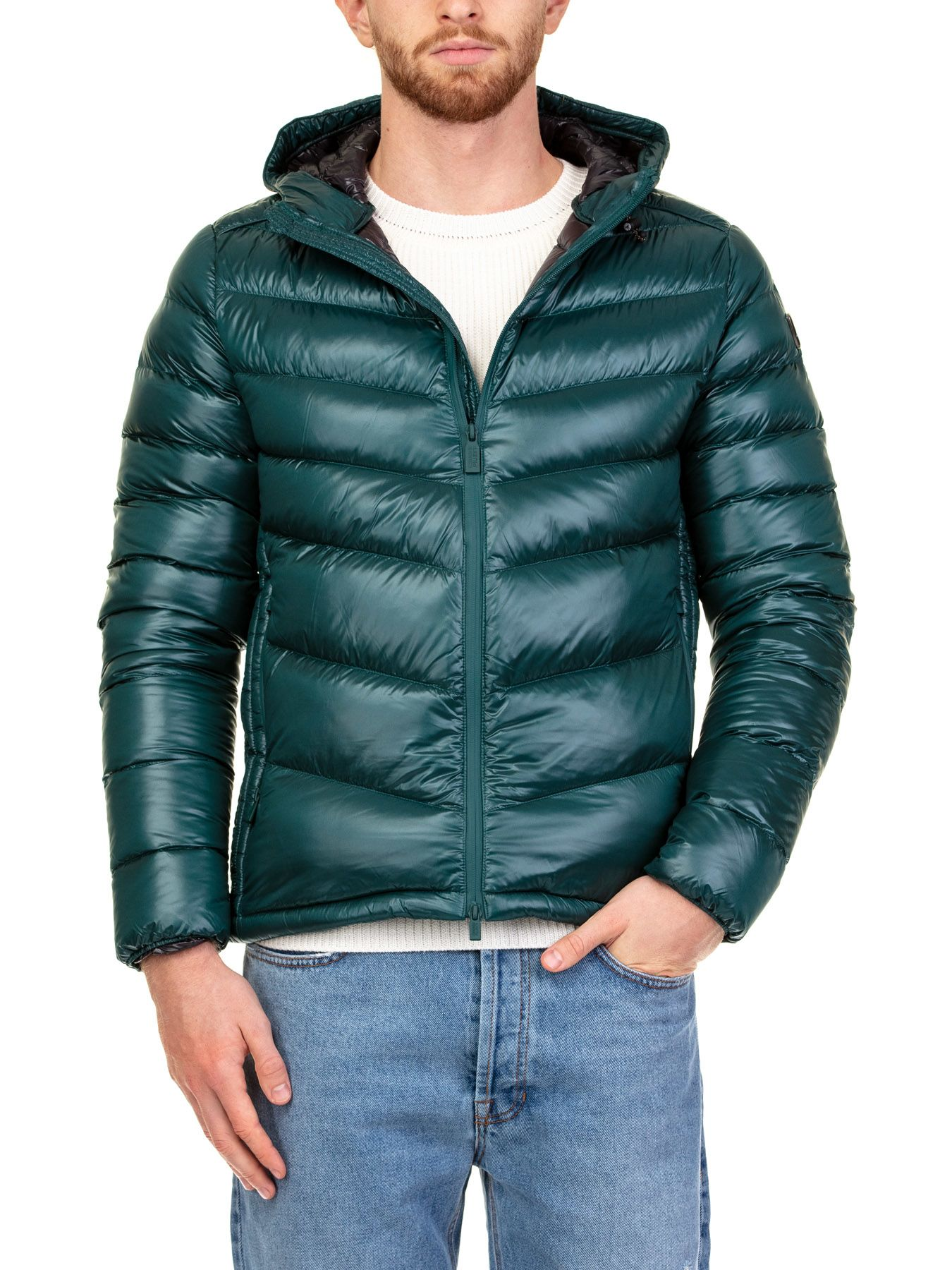 CIESSE Textiles Down Jacket in Green