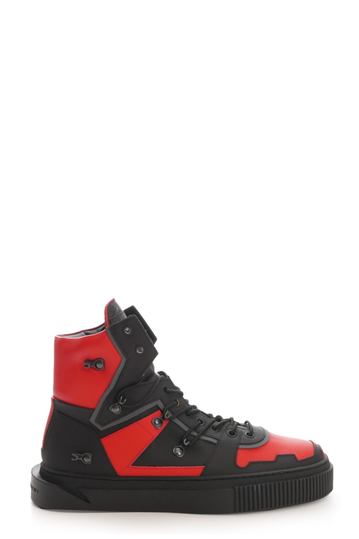 GIENCHI Sneakers in Nero/Rosso