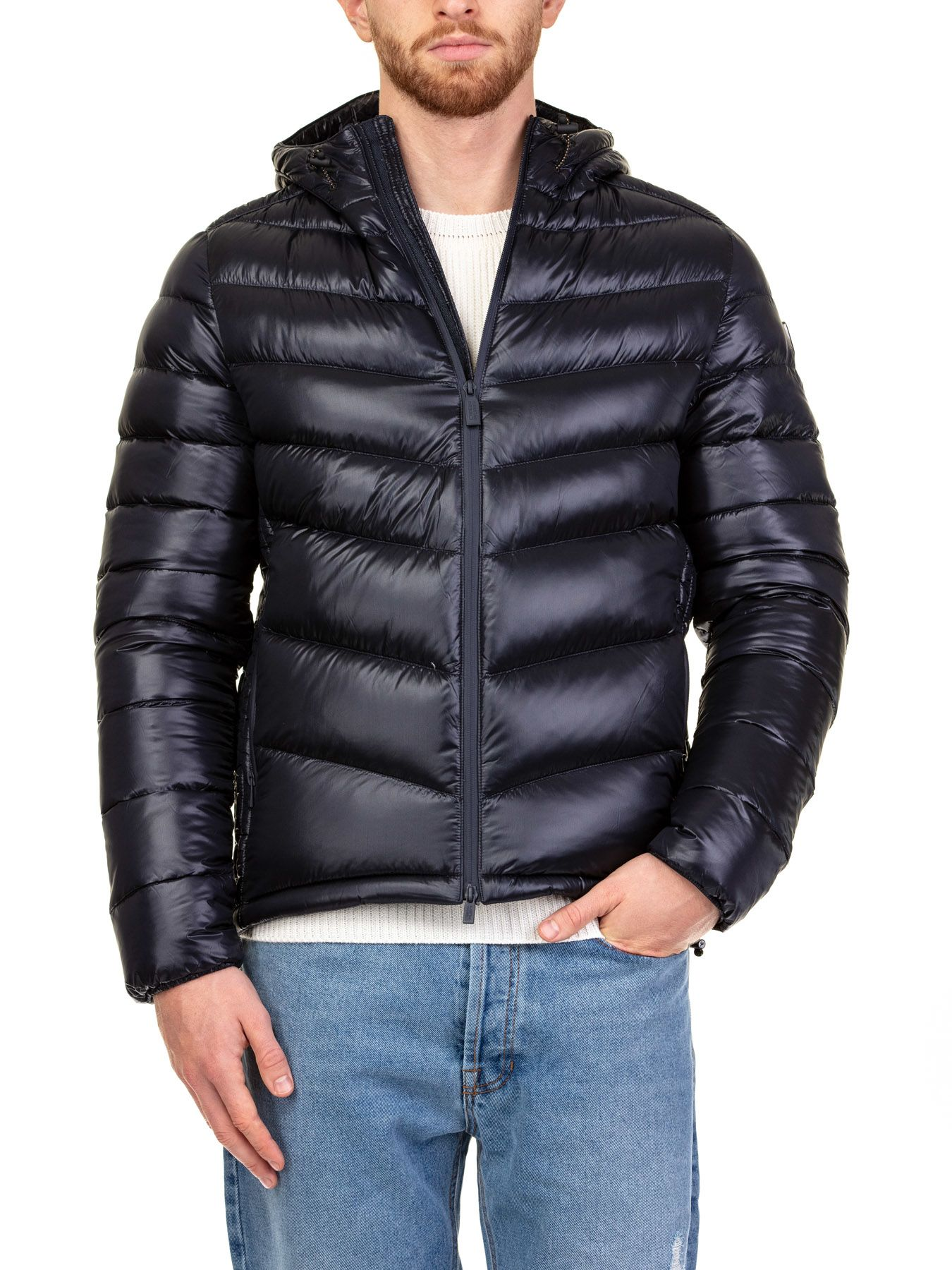 CIESSE Textiles Down Jacket in Blue