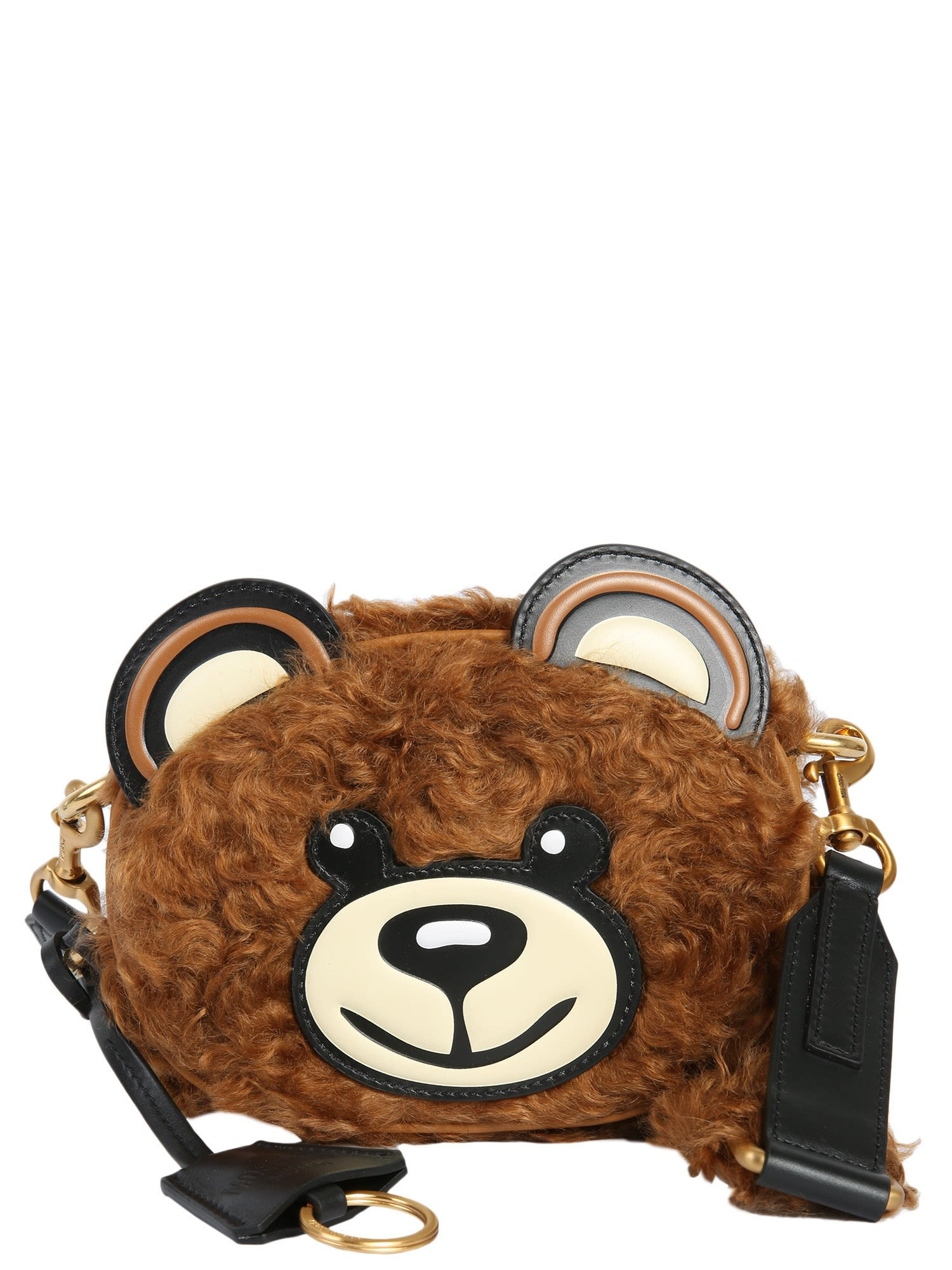 Moschino Leathers TEDDY CROSSBODY BAG