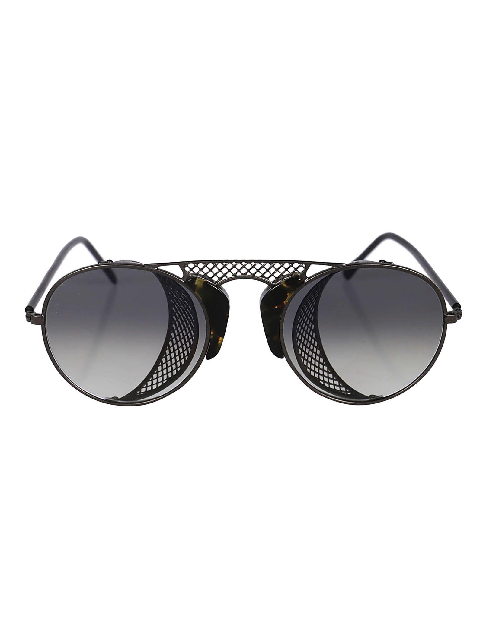 L.G.R Lgr Round Sunglasses in Gun Metal